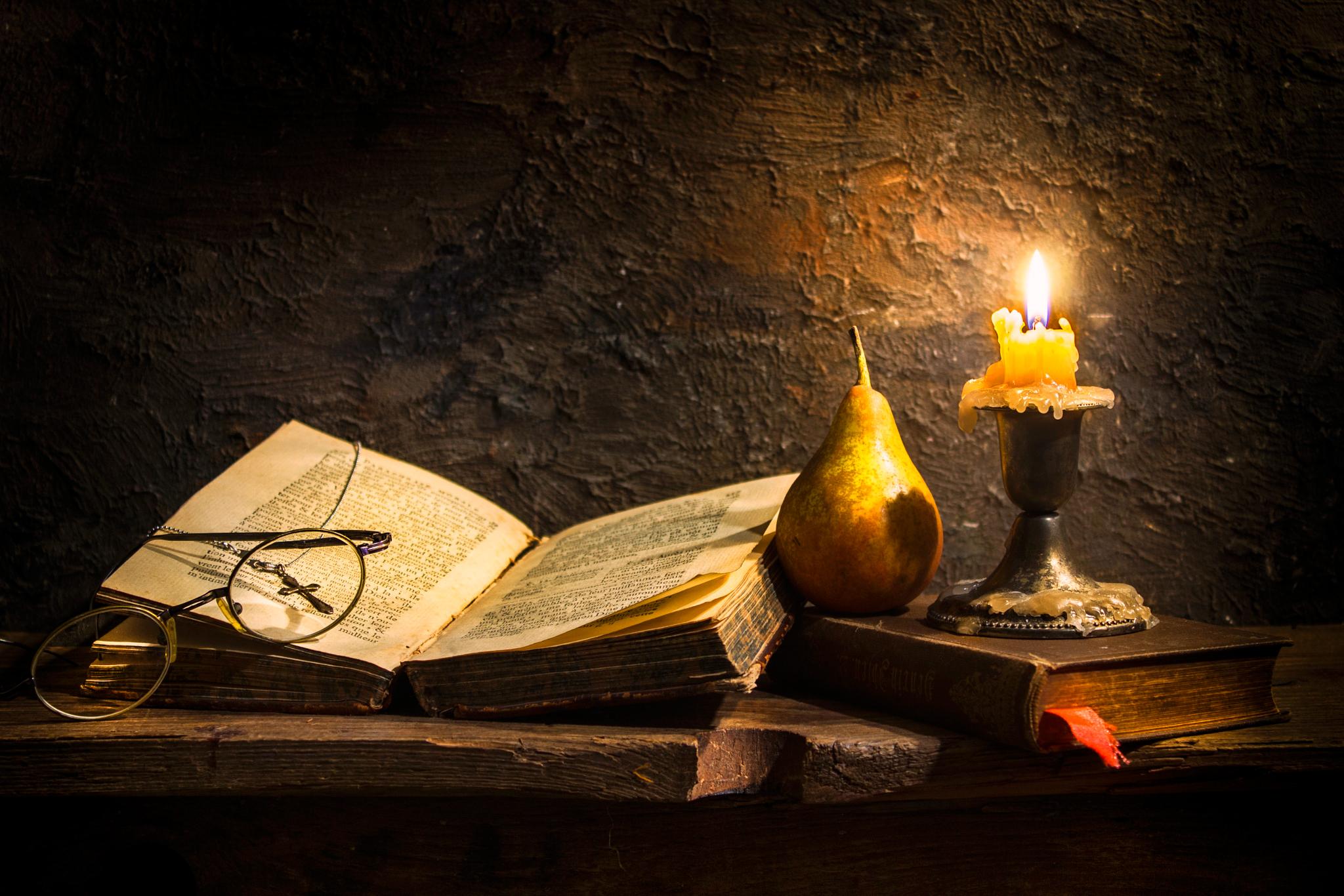 Замечательно картинки, свеча книга открытка