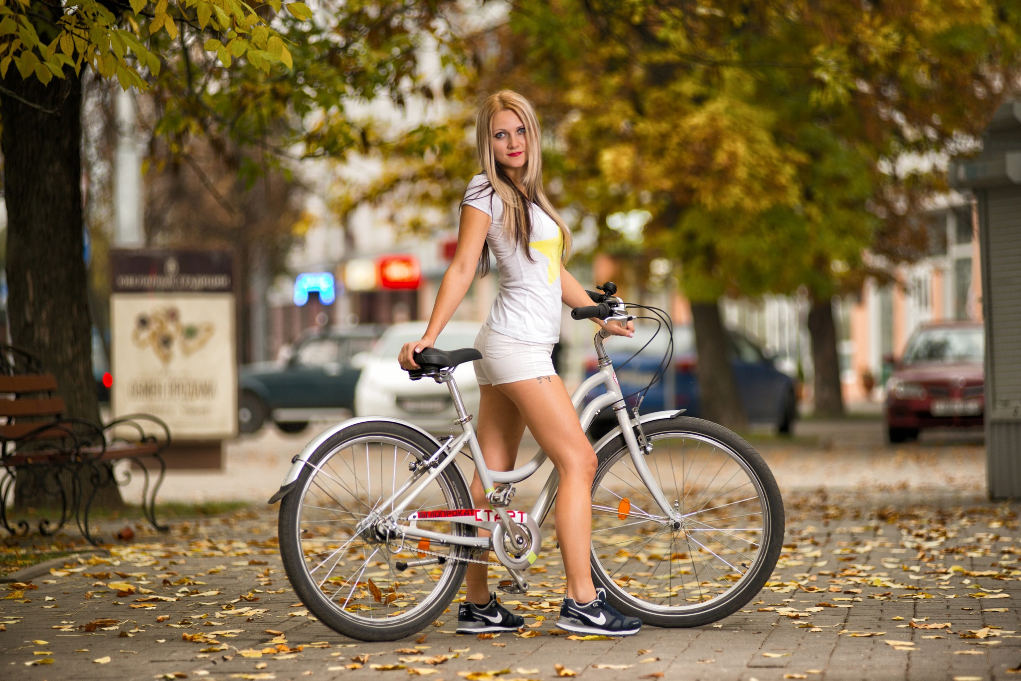 Hot girls on street bikes, pussy the best virgin