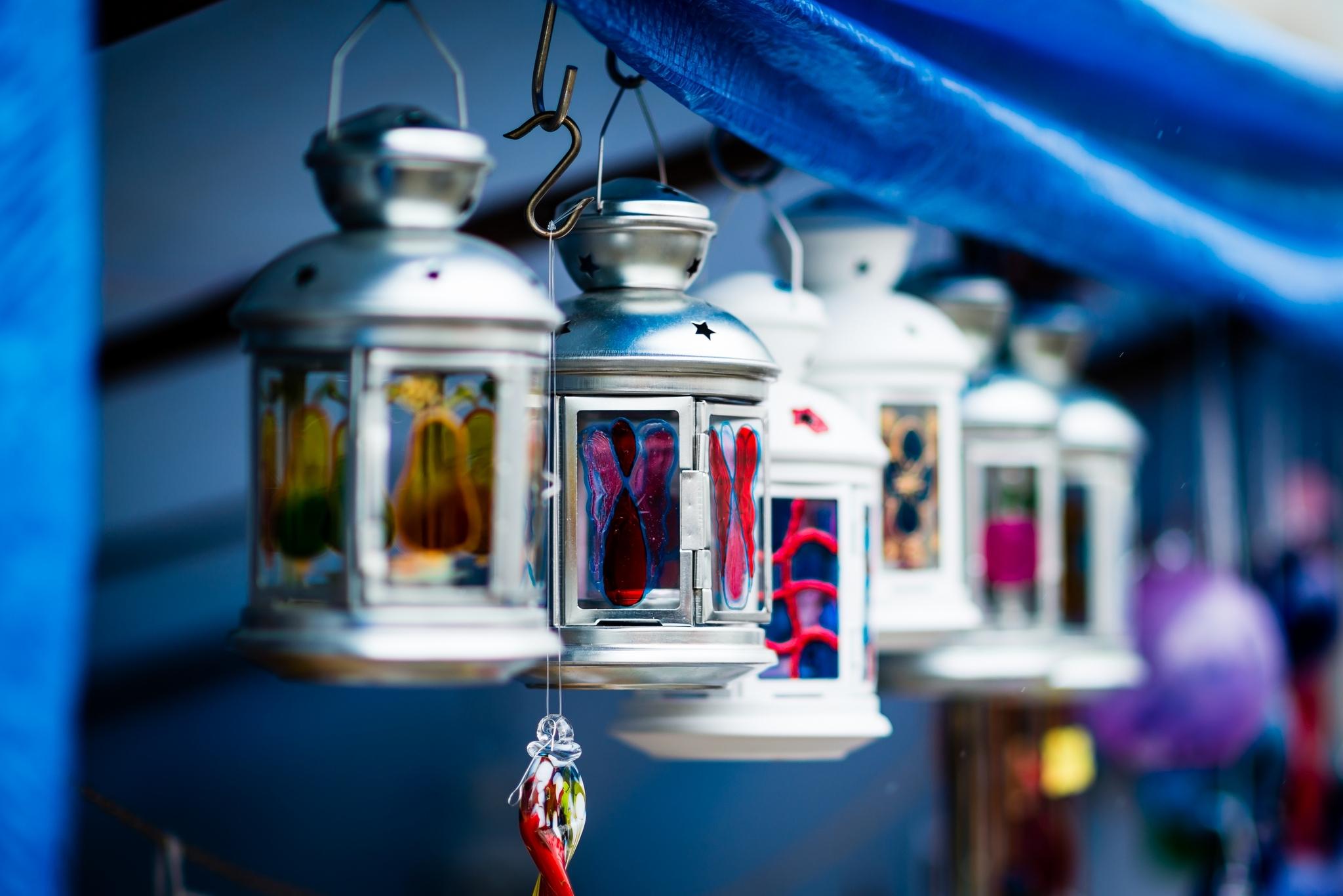 синий фонарь свечка  № 2050176 бесплатно