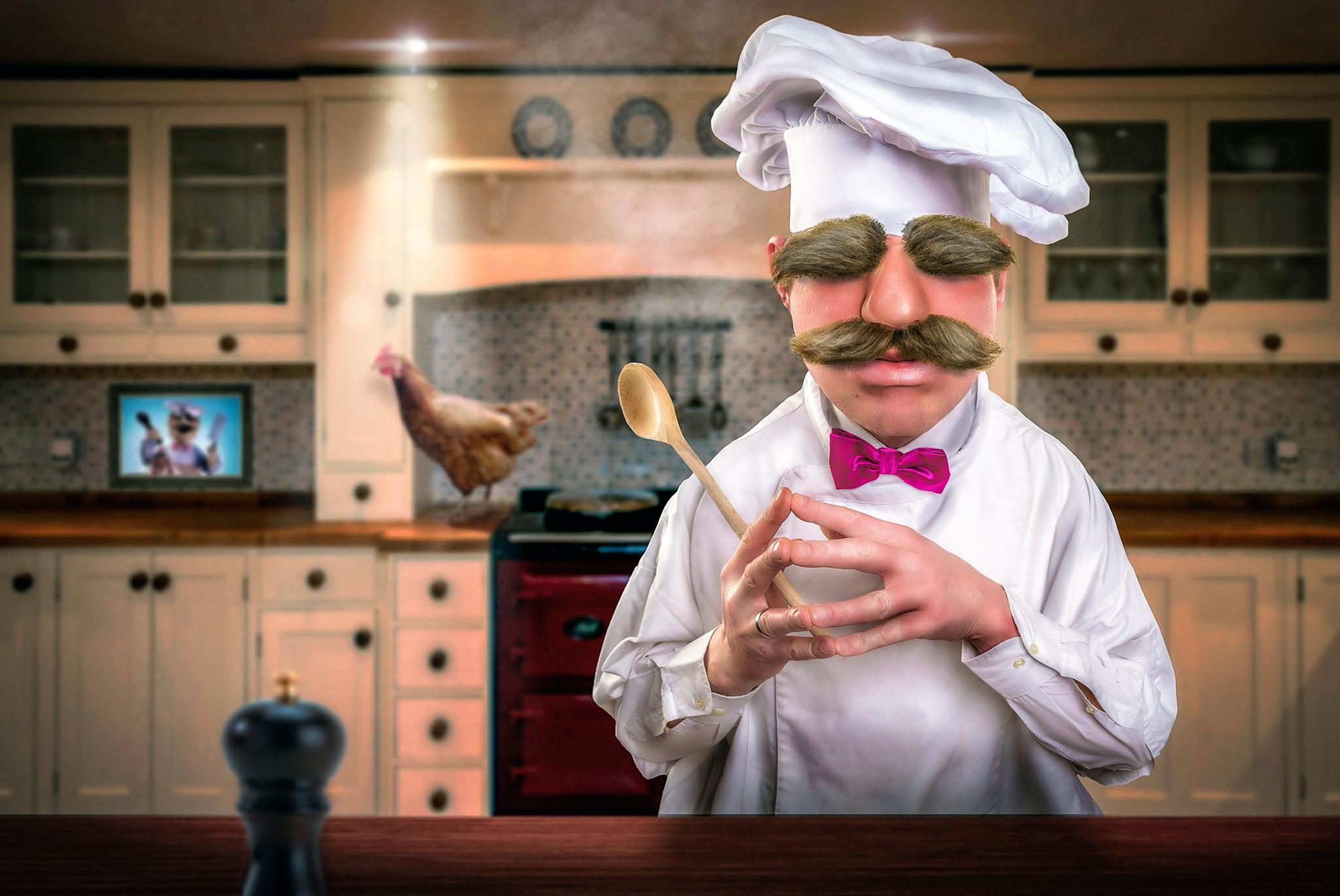 Картинки прикольная кухня