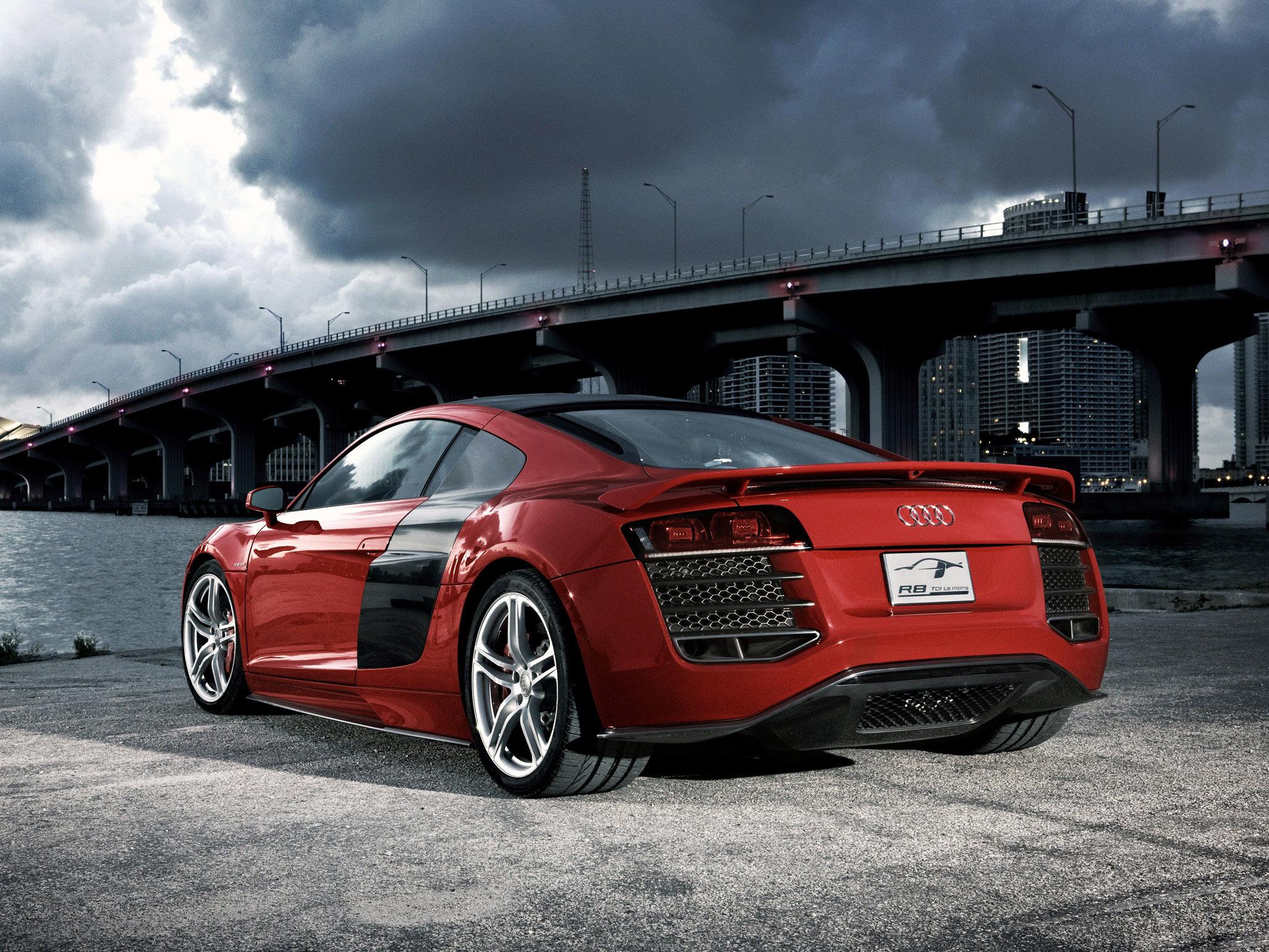 красный черный автомобиль Audi TT red black car  № 2626232  скачать