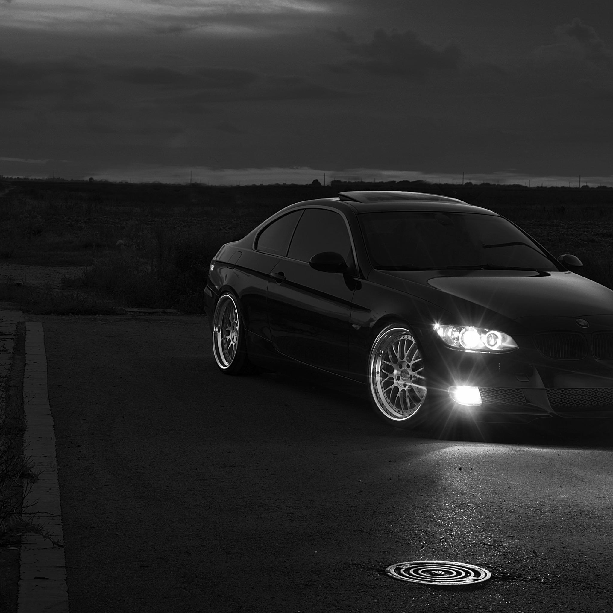 черно-бело фото BMW  № 2422725 бесплатно