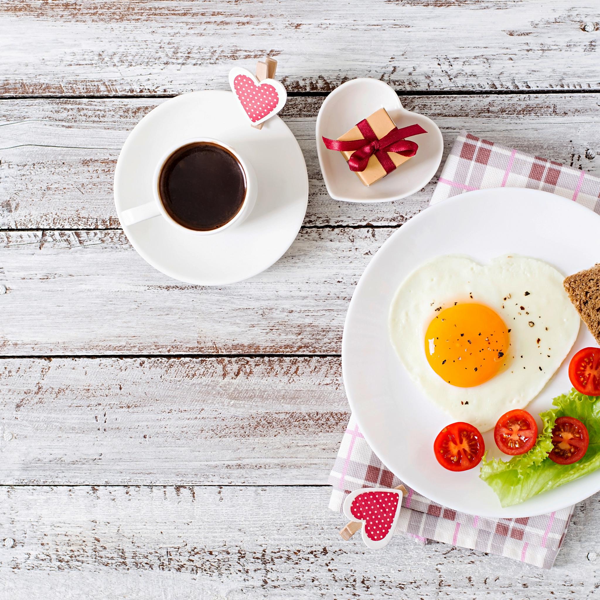 Открытки с добрым утром и завтраком