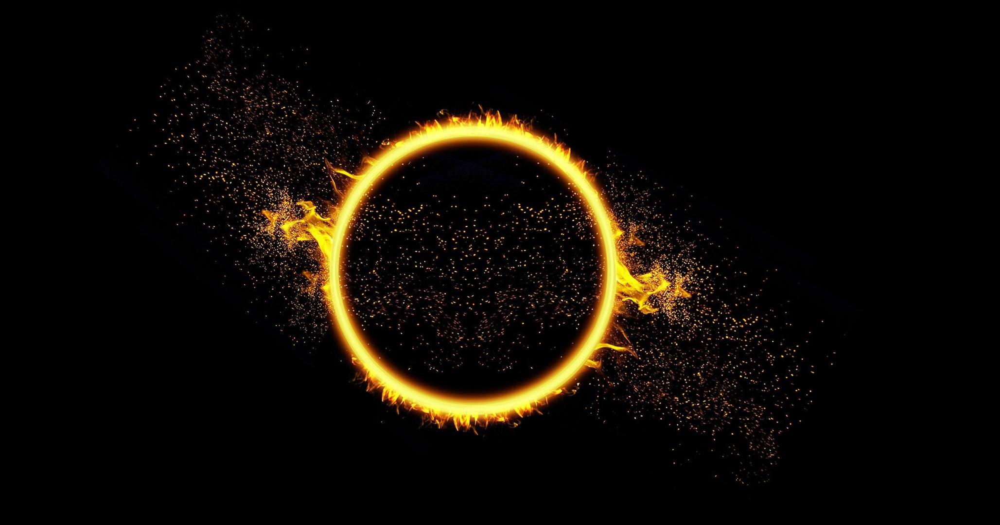 Фигура круг коричневый  № 2279637  скачать