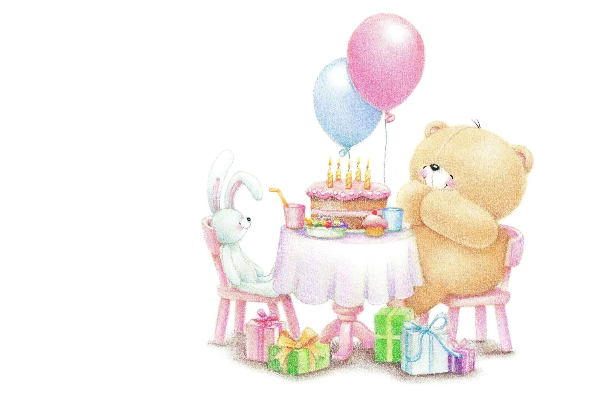 Картинки с днем рождения с медвежонком, бультерьер рисунок