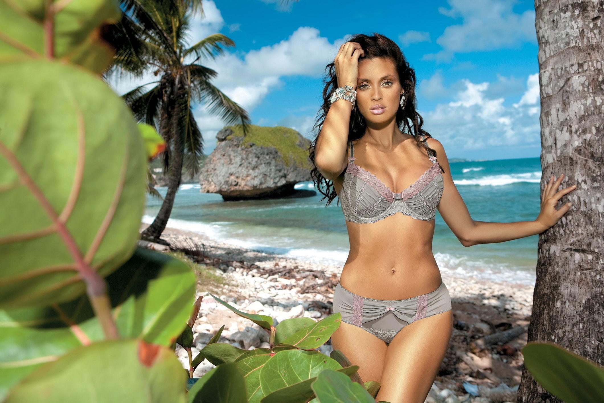 Фото пляжных красавиц 7 фотография