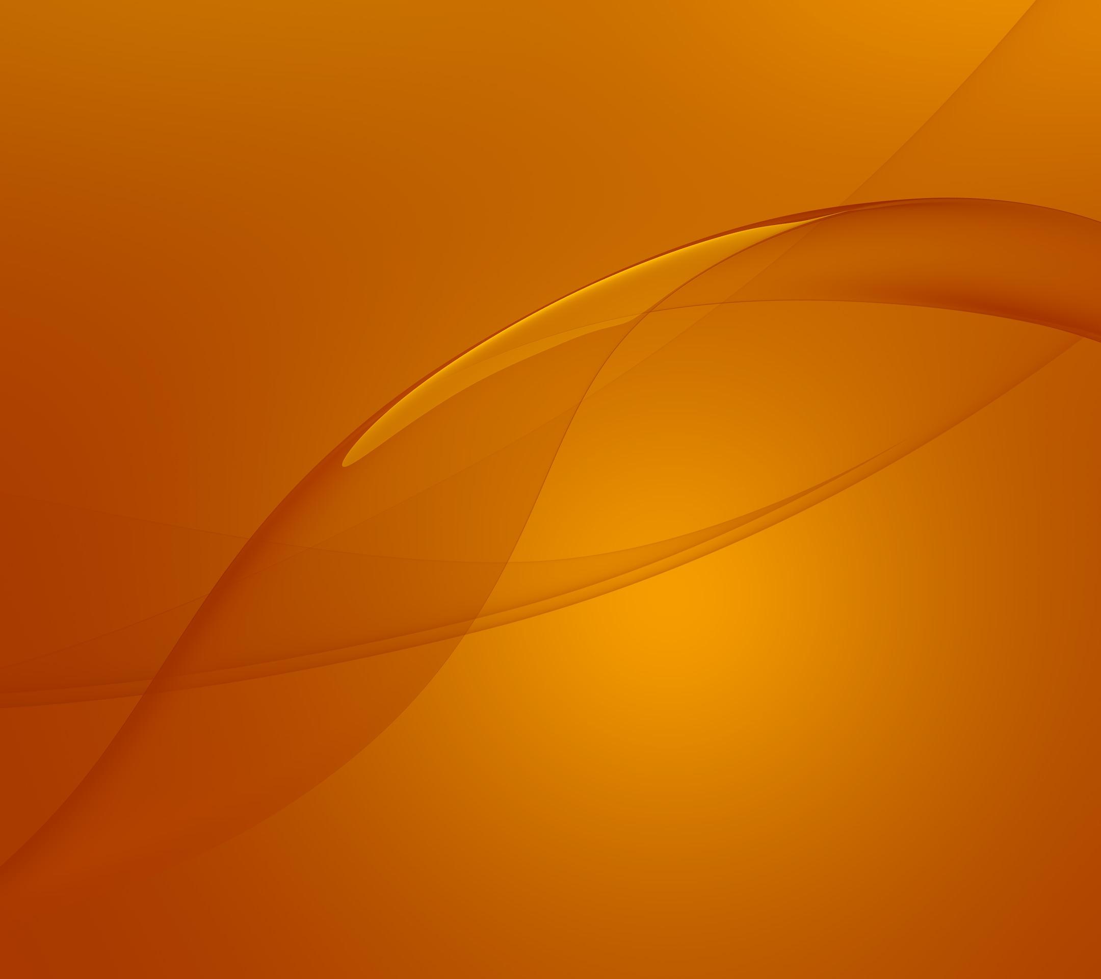 Обои wallpaper, Xperia, stock, experience, z3, sony, orange. Абстракции foto 6
