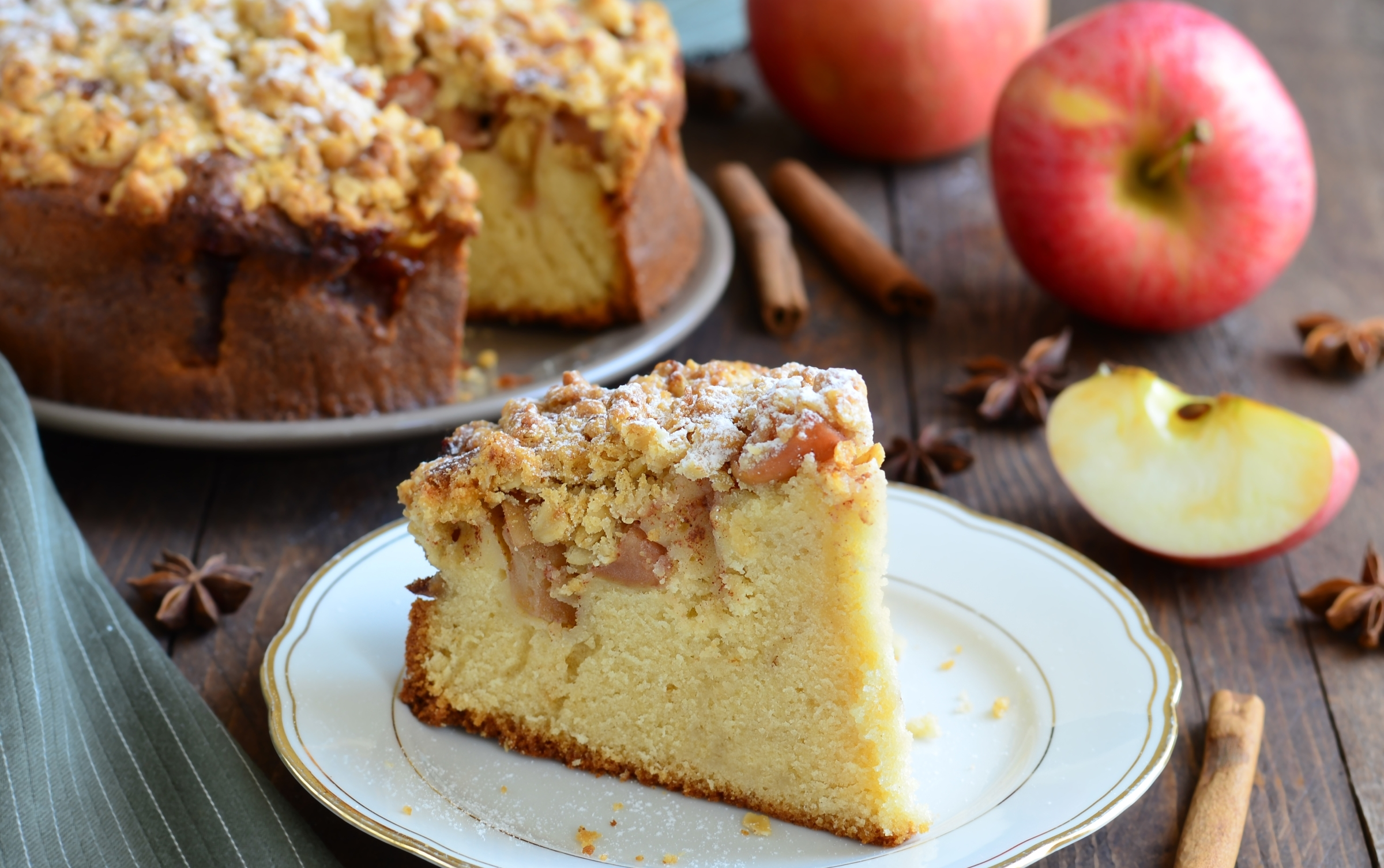 ночи сочный яблочный пирог рецепт с фото фотообои отлично подойдут