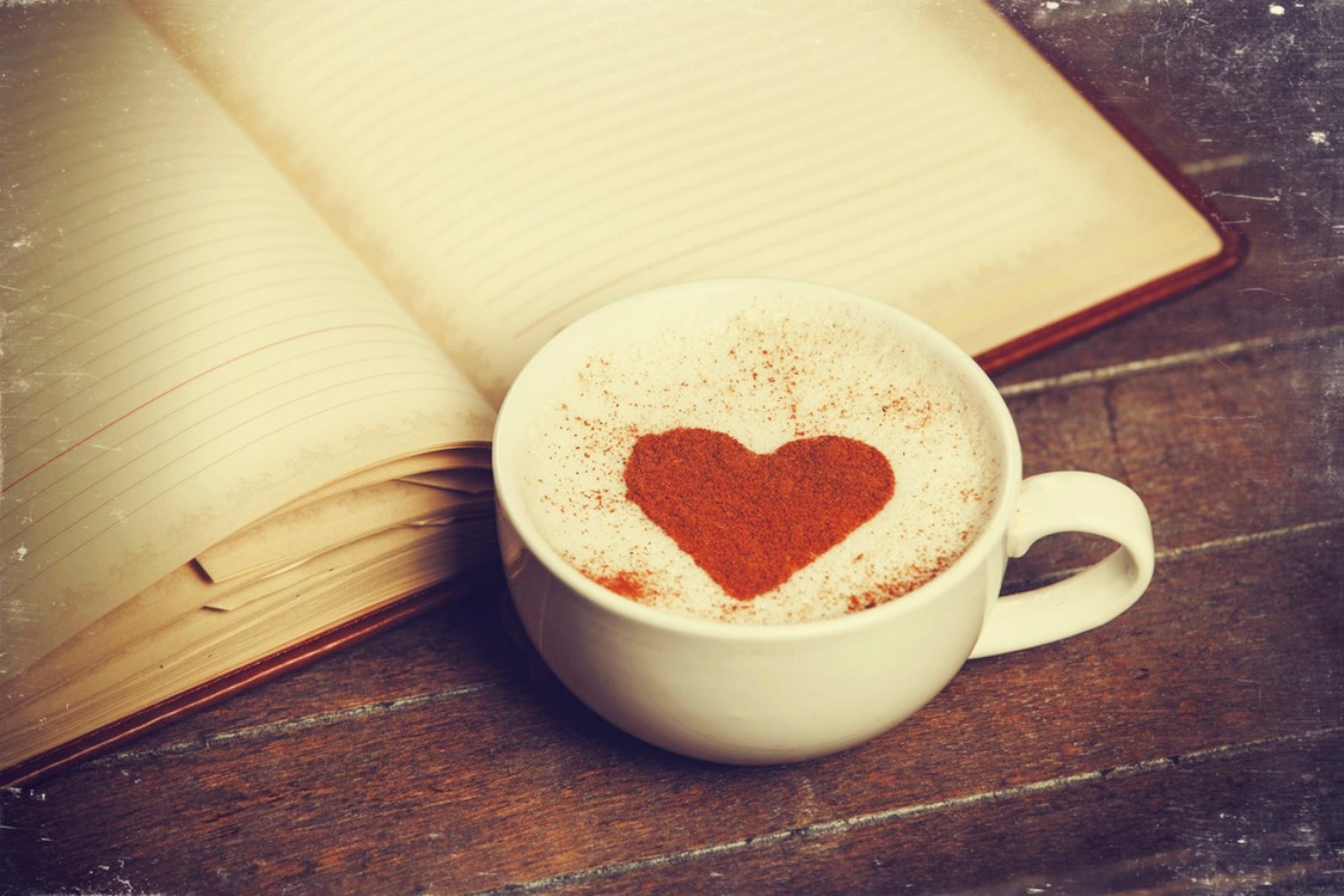 Чашка кофе и сердце картинки