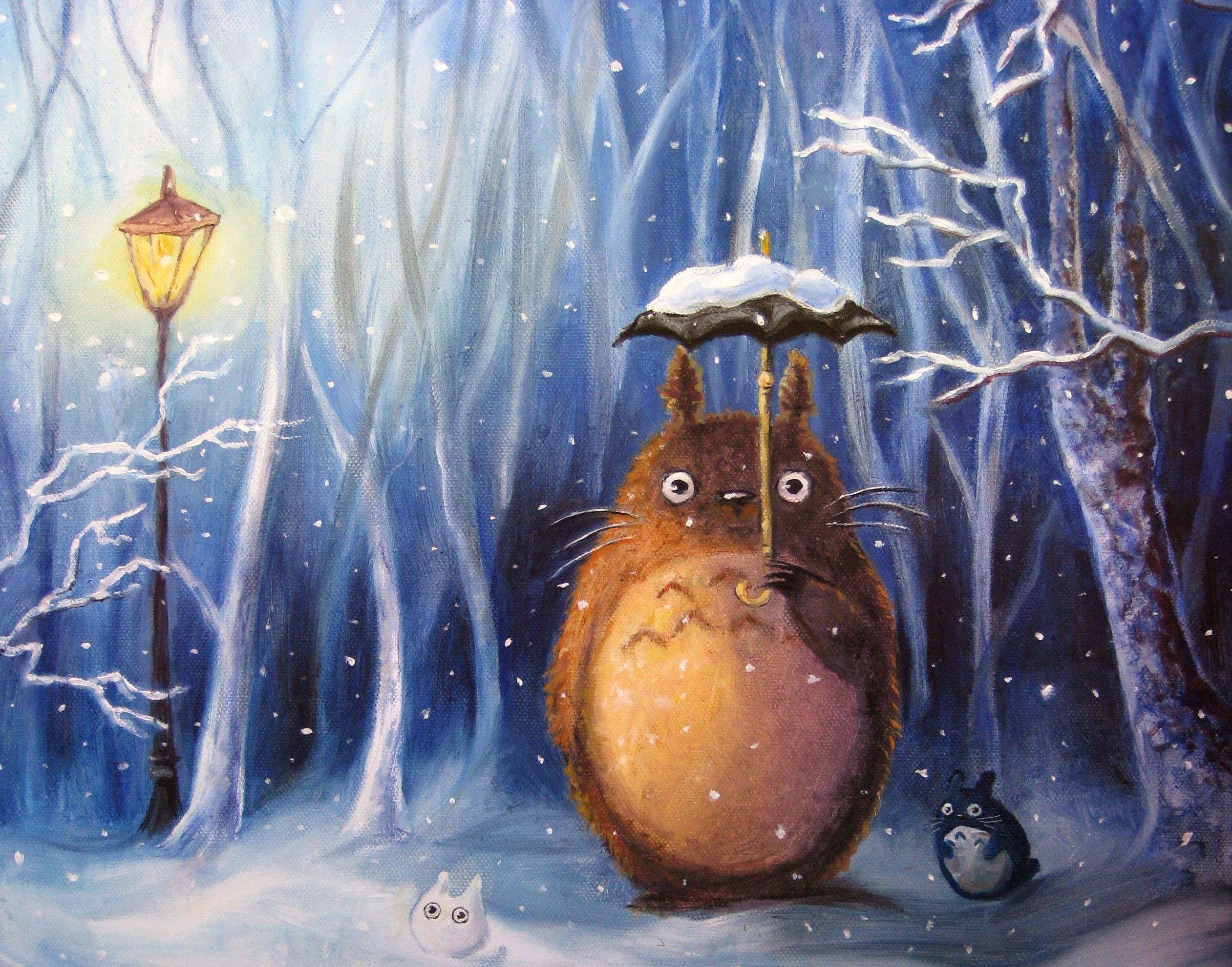 Крестной днем, смешные рисунки зимние