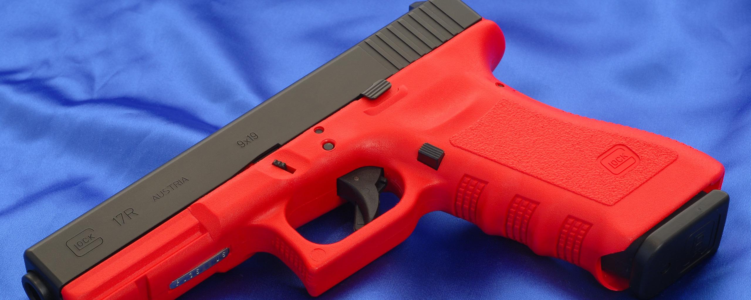 Картинки красный пистолет