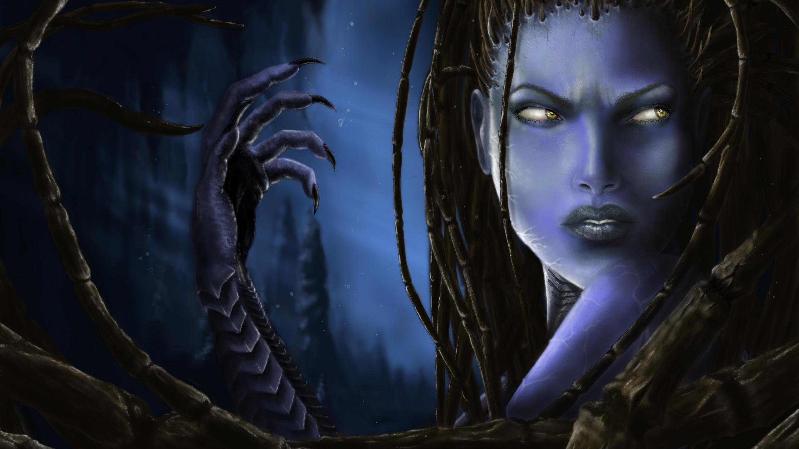 Обои starcraft, queen of blades, Королева Клинков, сара керриган. Игры foto 11