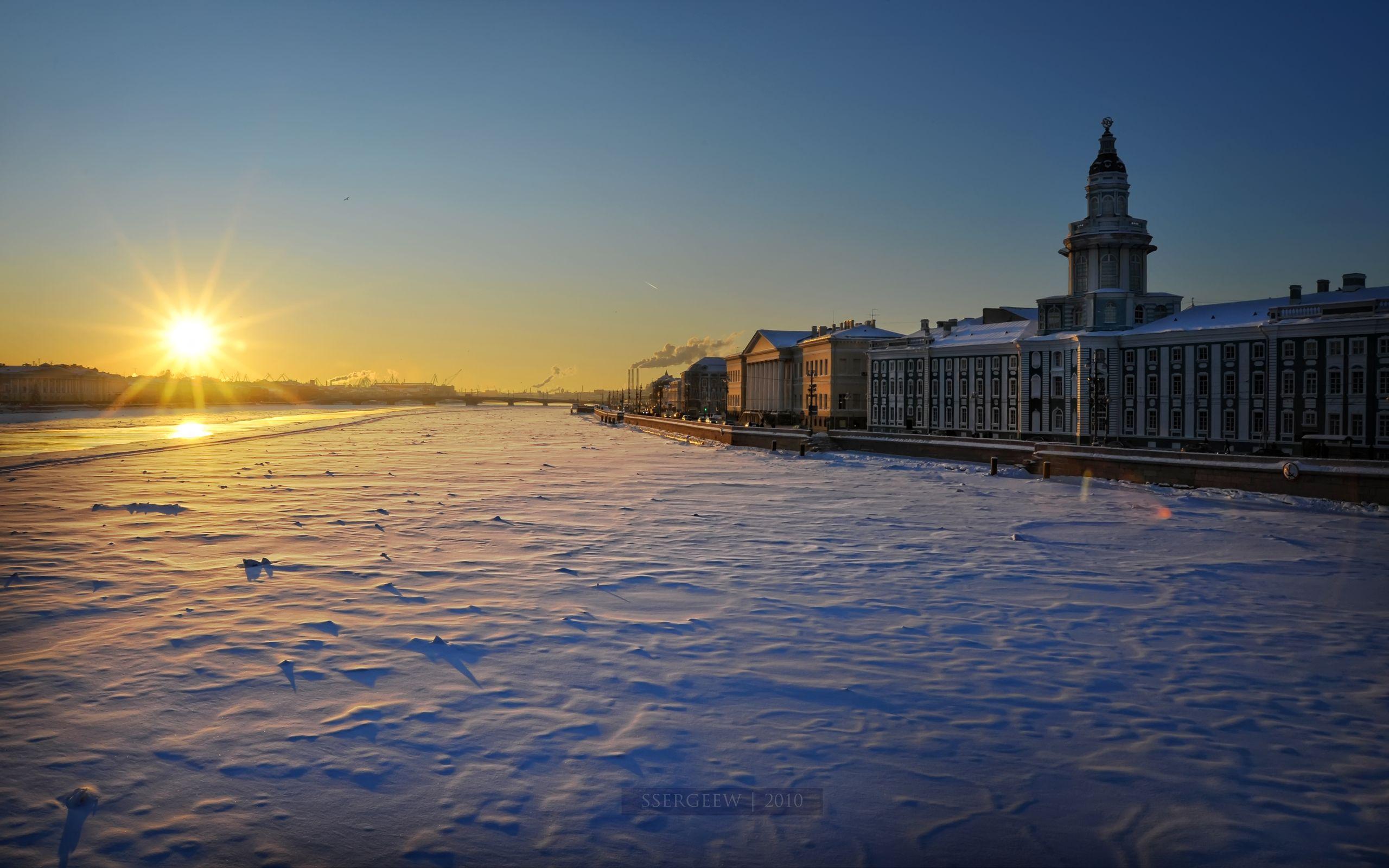 санкт петербург зимой