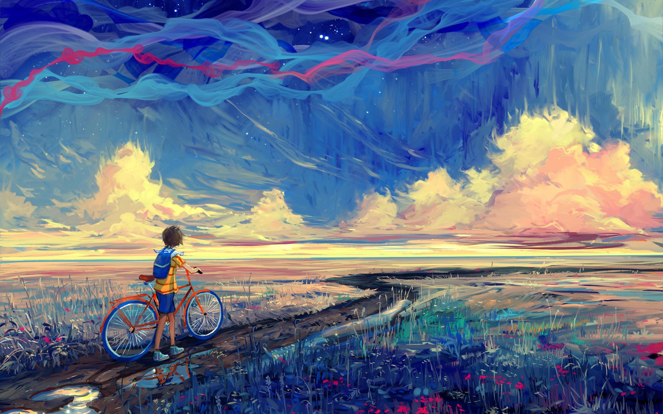 Картинки по запросу дорога живопись