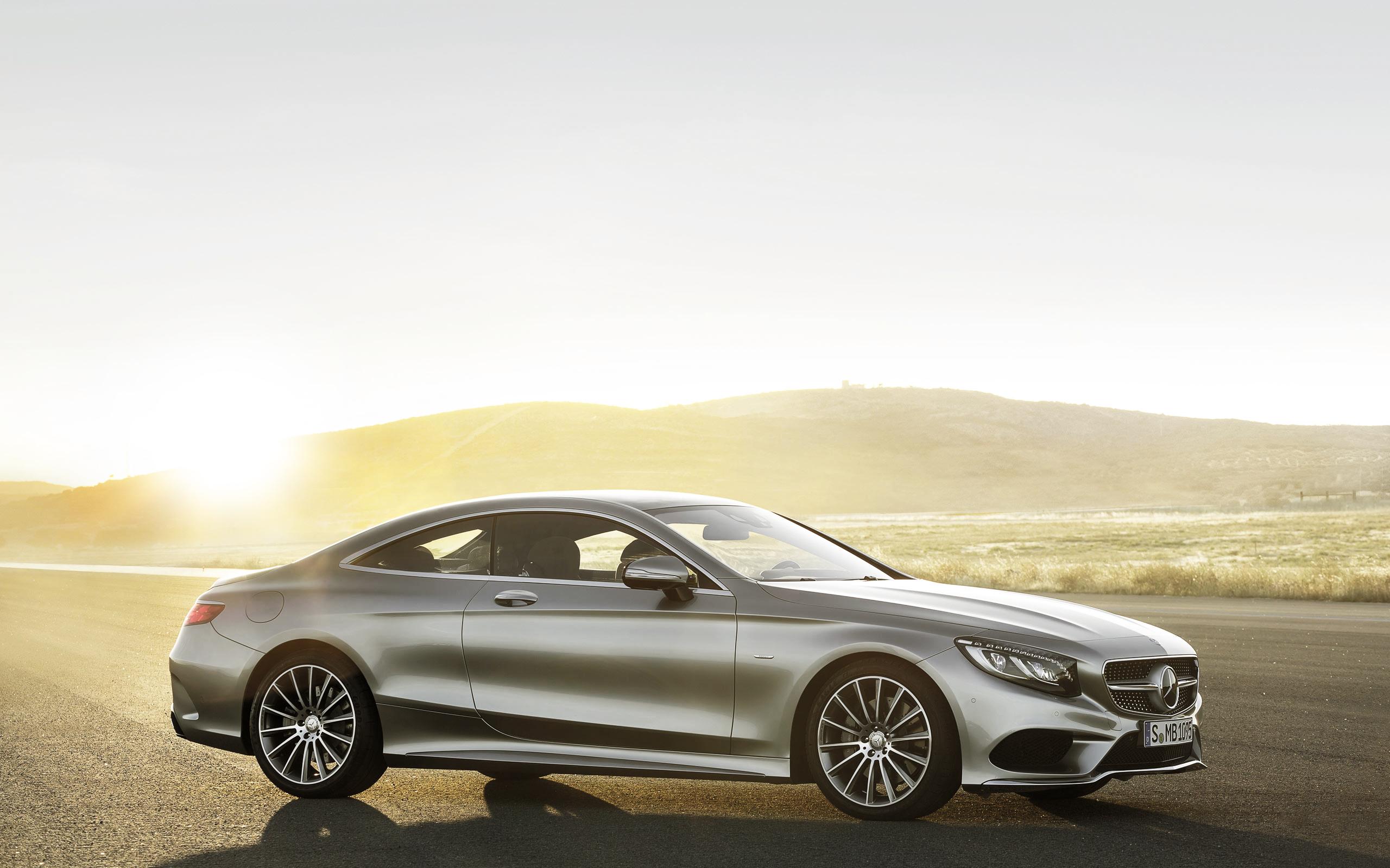 мерседес серебристый Mercedes silver  № 287974 загрузить