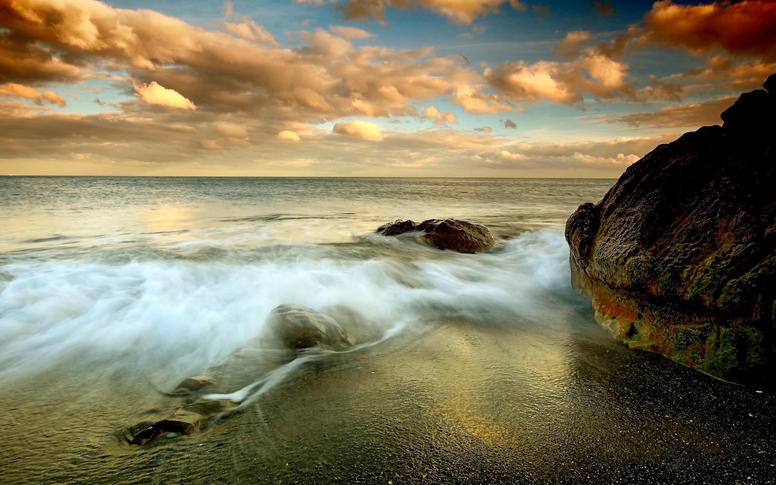природа море берег небо горизонт  № 3776998 без смс