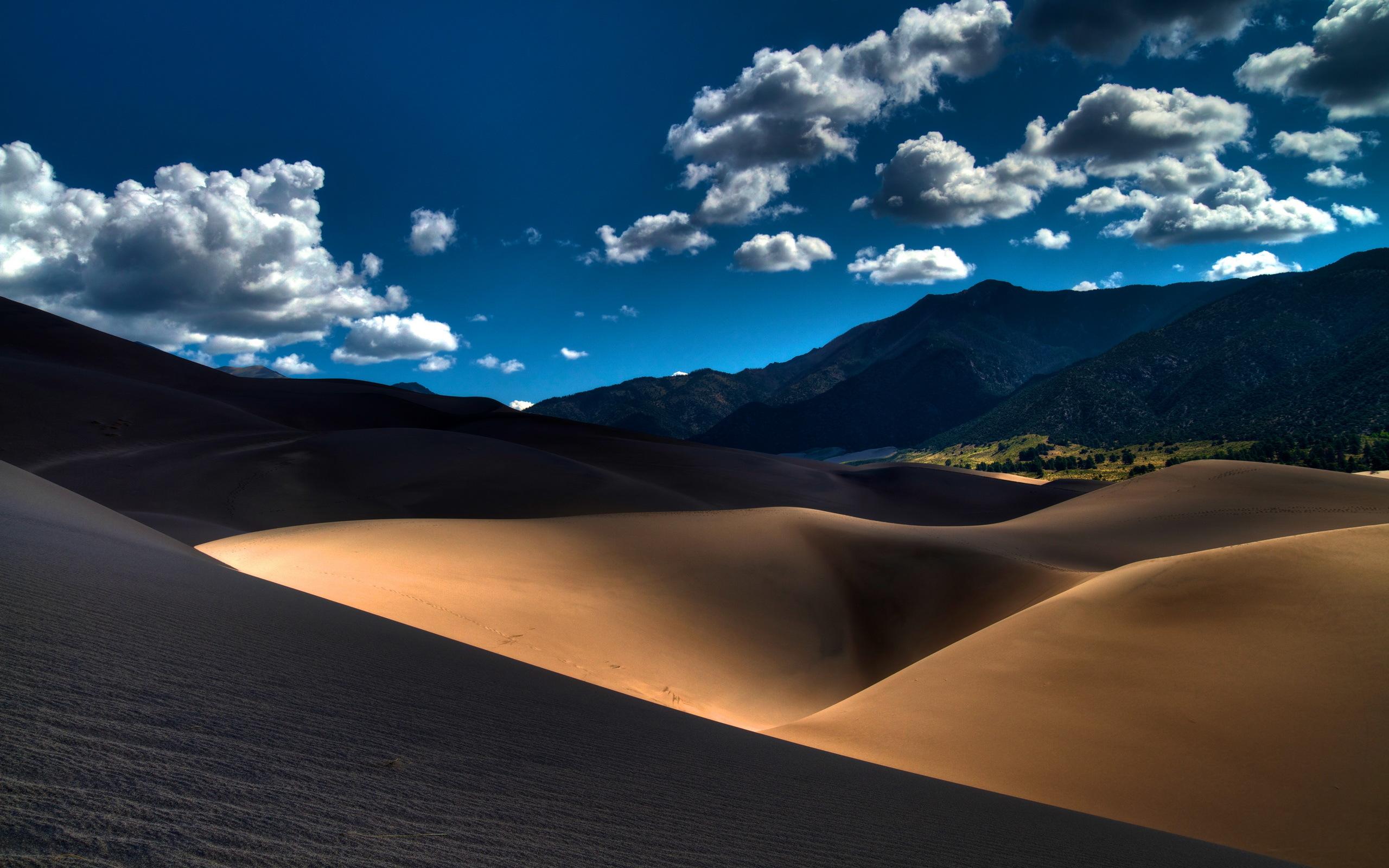 песчаные горы в пустыне  № 3606023 бесплатно