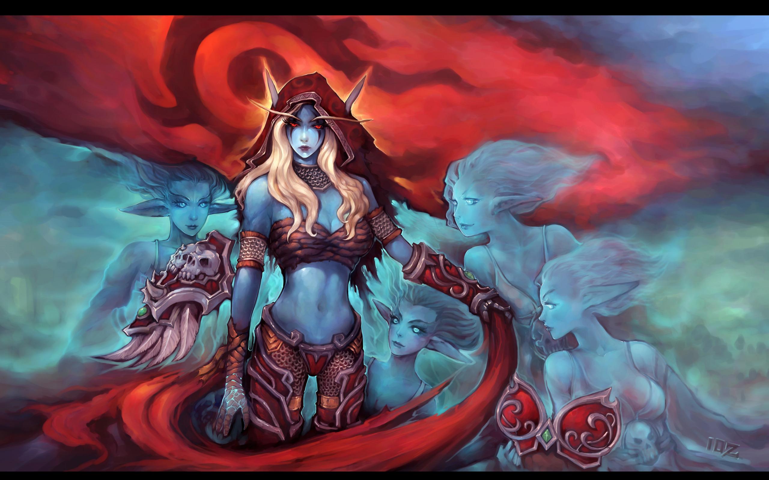 Warcraft sylvanus hentai adult scenes