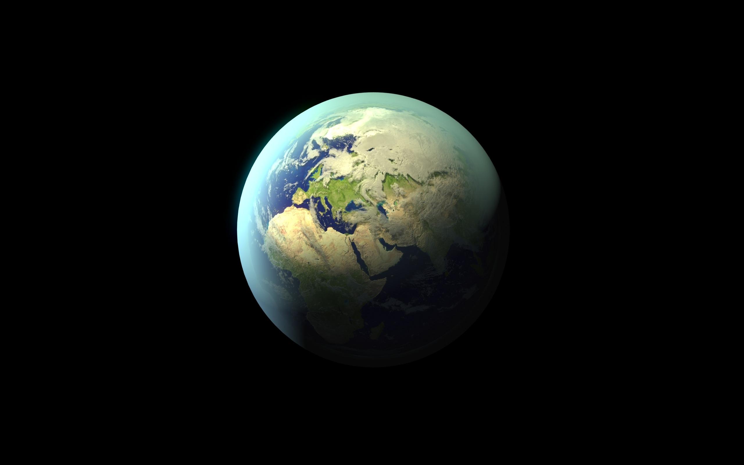 planets surrounding earth - HD1920×1200