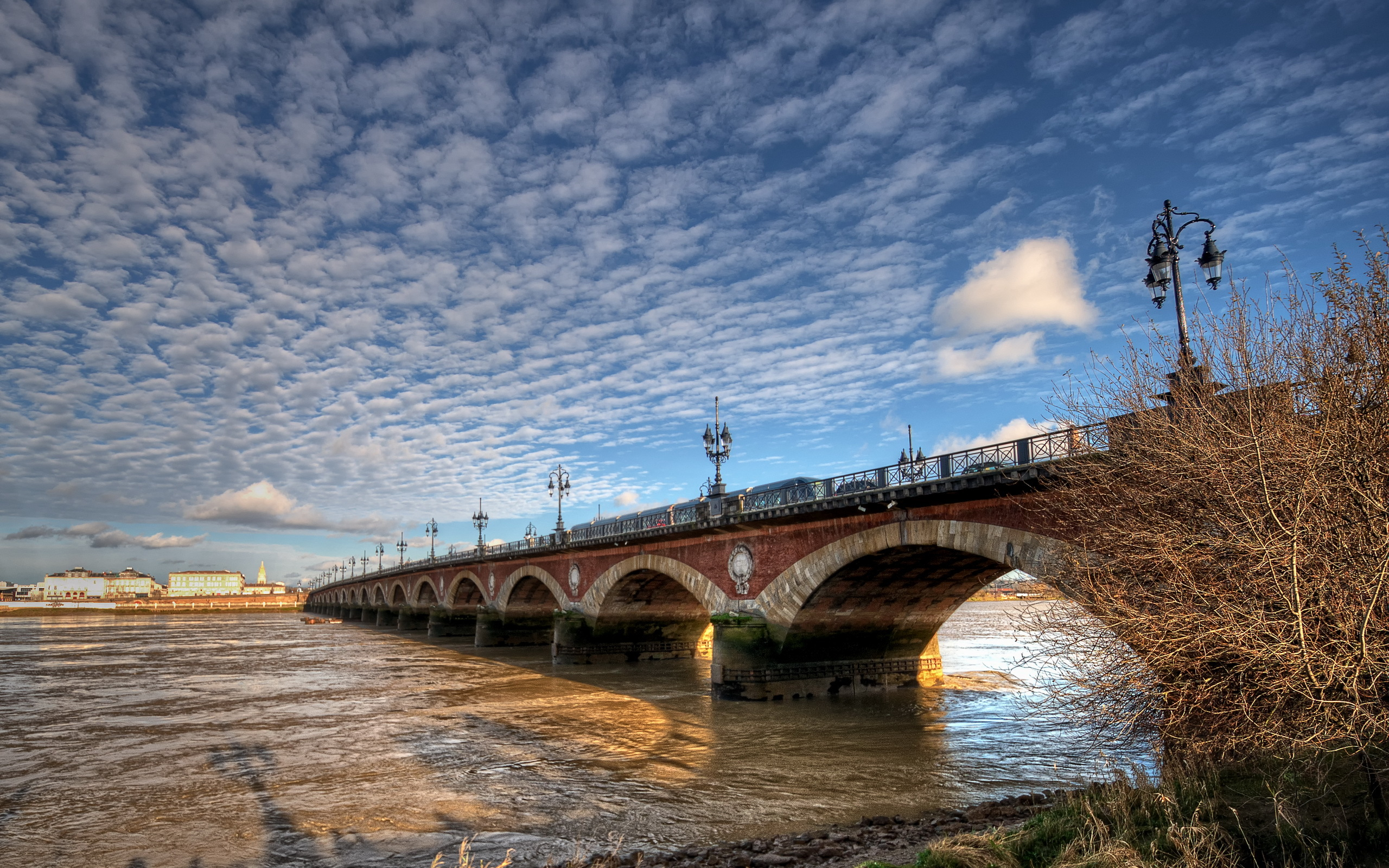 Город река мост  № 3888430 загрузить