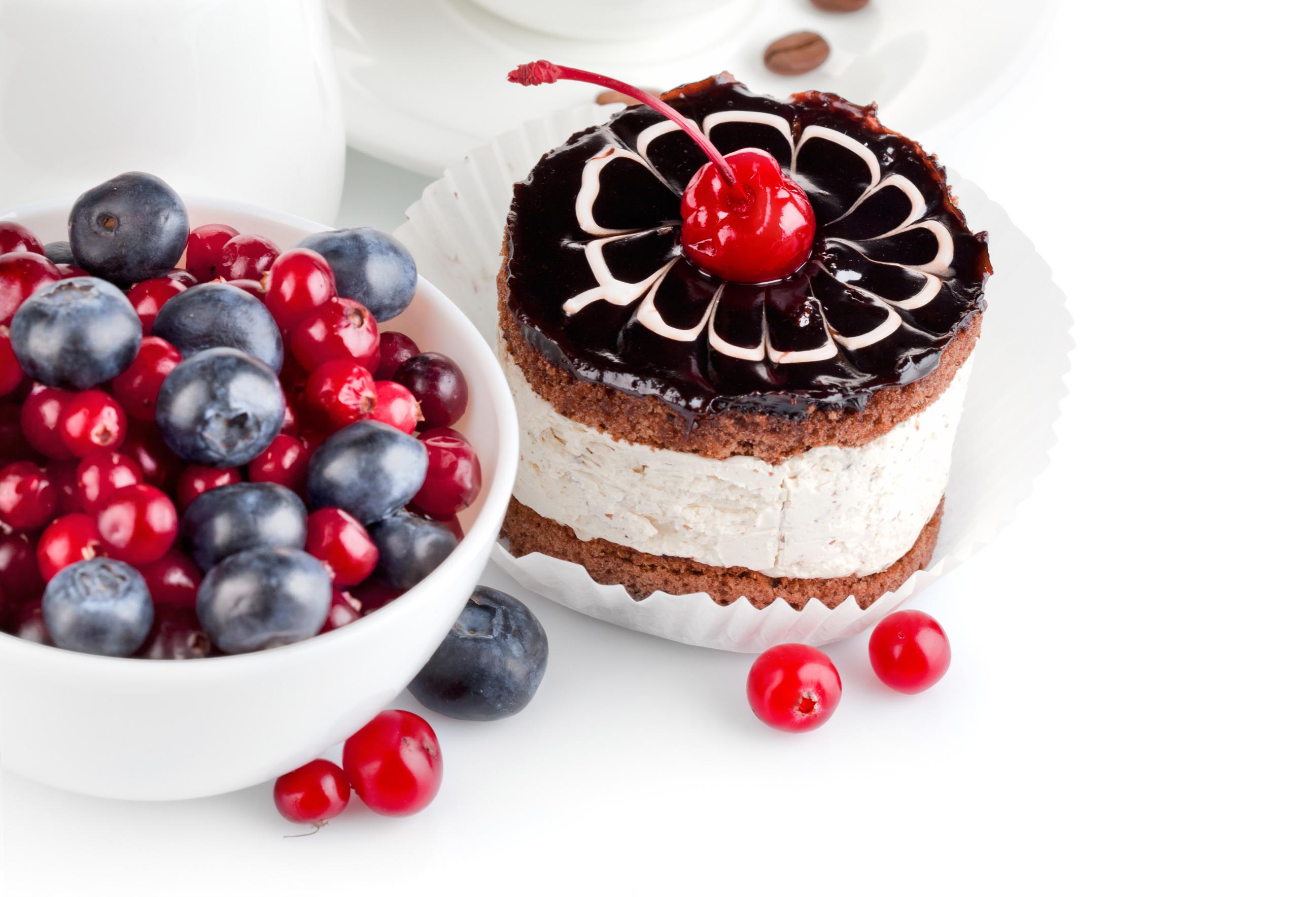 еда ягоды кексы  № 2152773  скачать