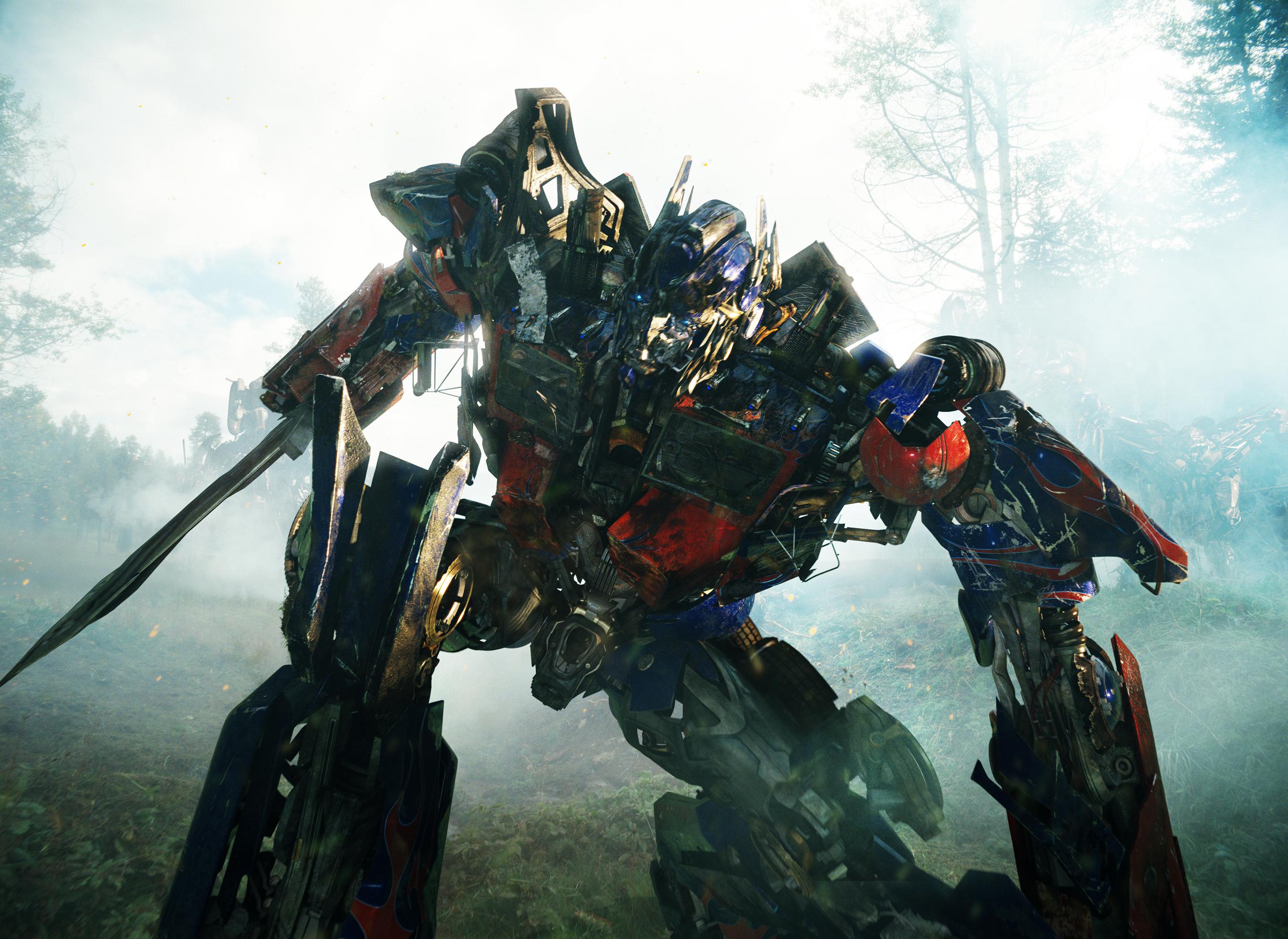 Optimus prime transformer movies