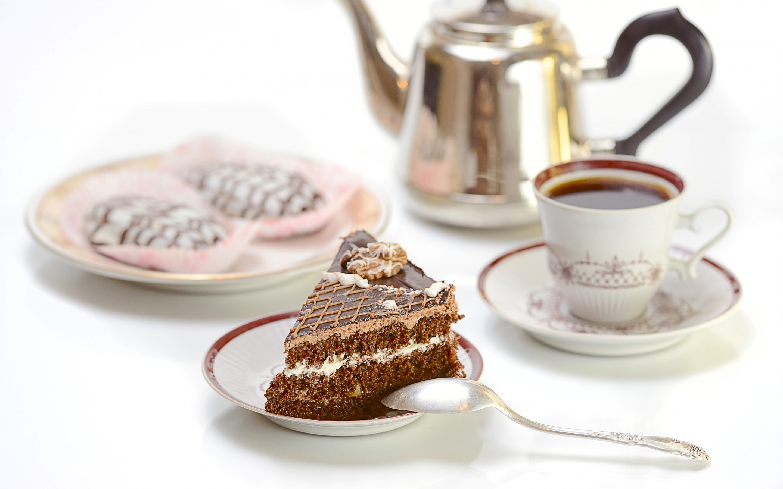 Открытки торт с чаем, для текста марта