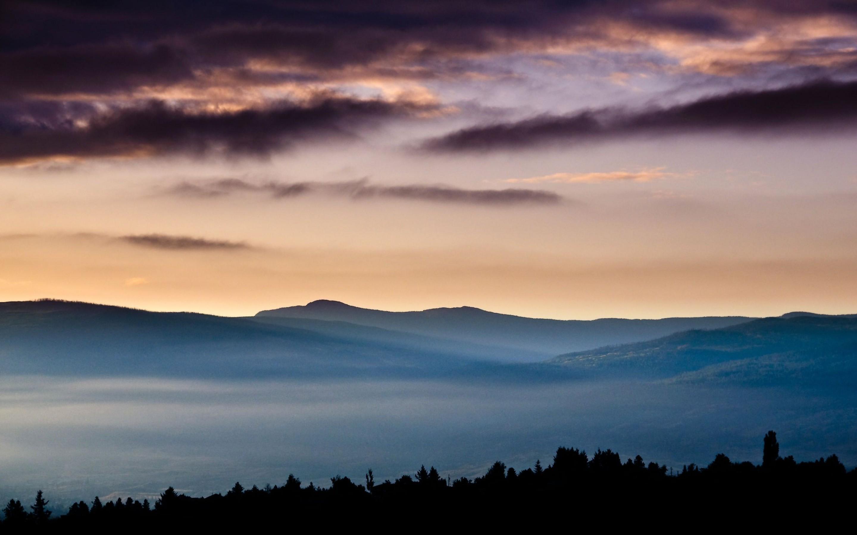природа горы облака  № 2602253 без смс