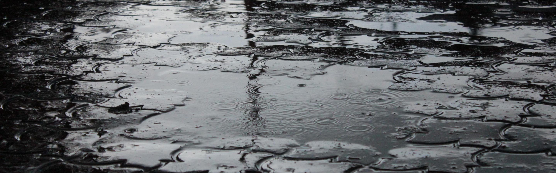 Resultado de imagen de charco lluvia