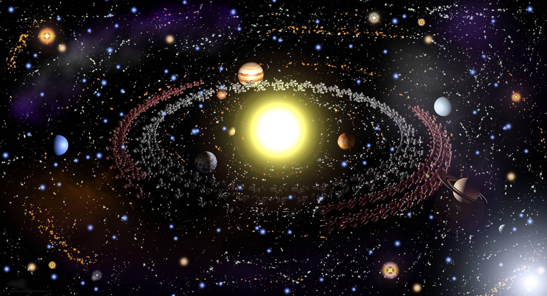 космос вокруг картинки