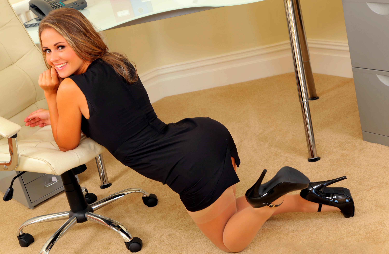 Hot girl in office #9