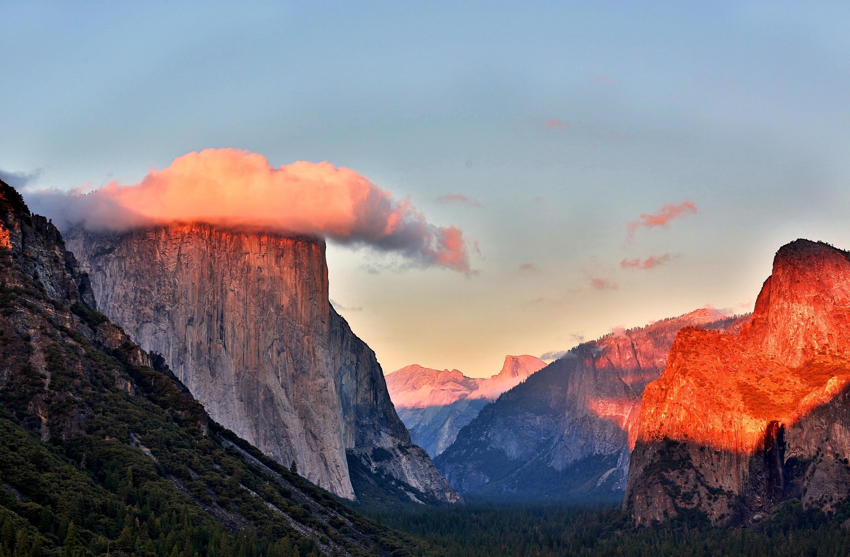 природа небо облака горы скалы  № 514760 бесплатно