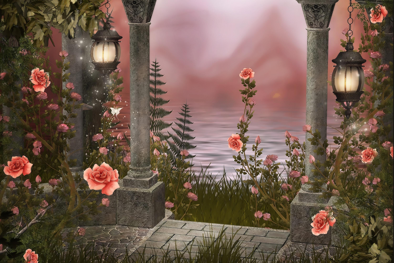гифы райские цветы