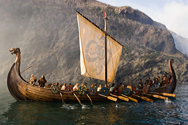 времена викингов картинки утром