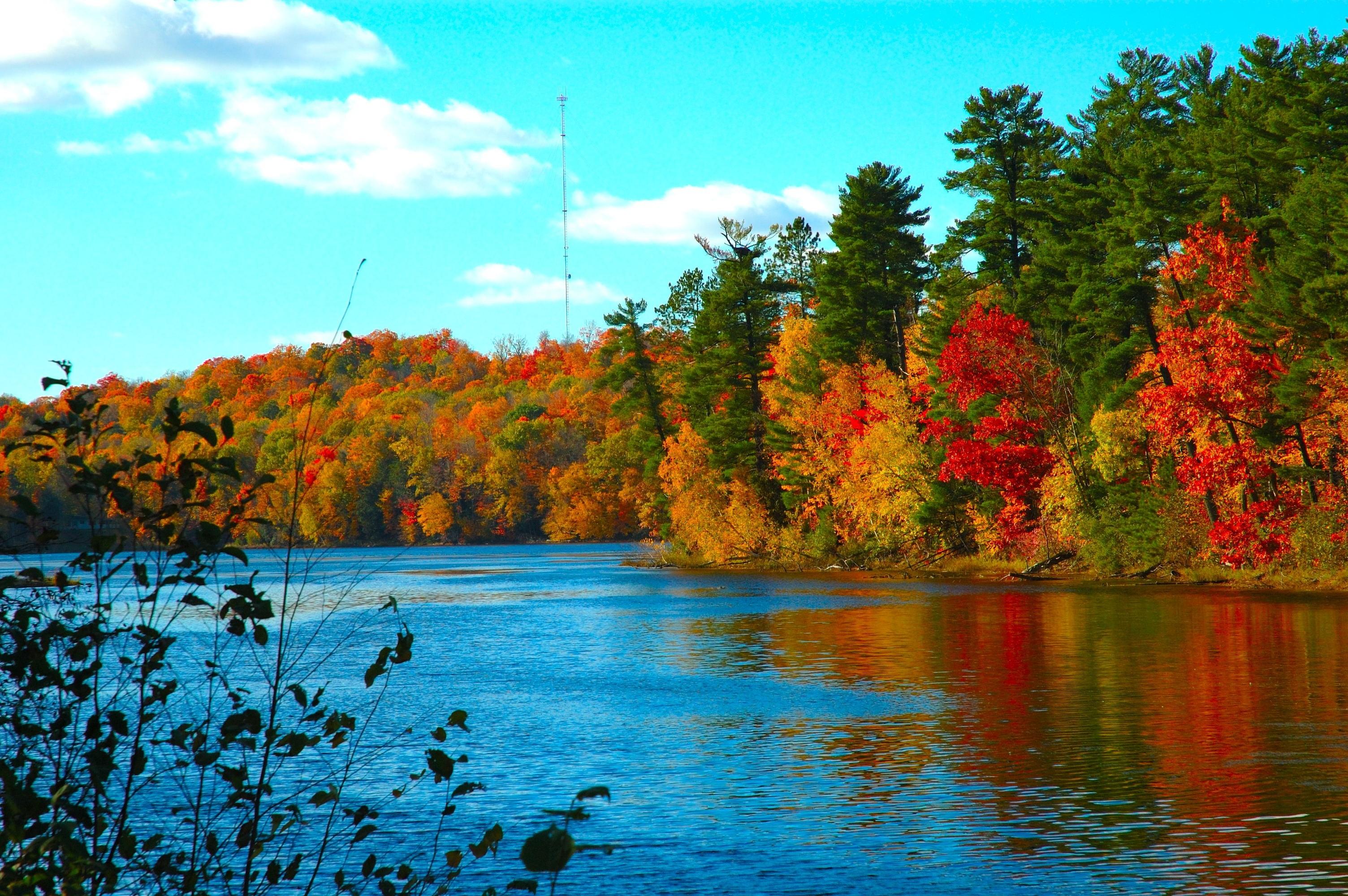 обои широкоформатные на рабочий стол бесплатно красивая природа осень № 241142  скачать