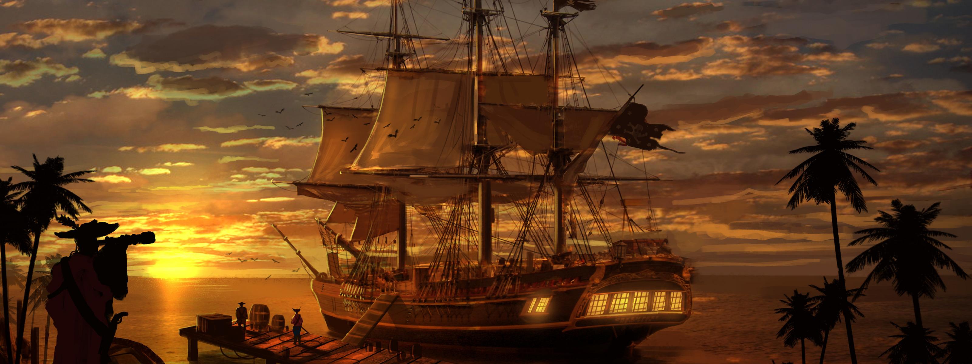 фрегат пираты карибов картинки уверяли