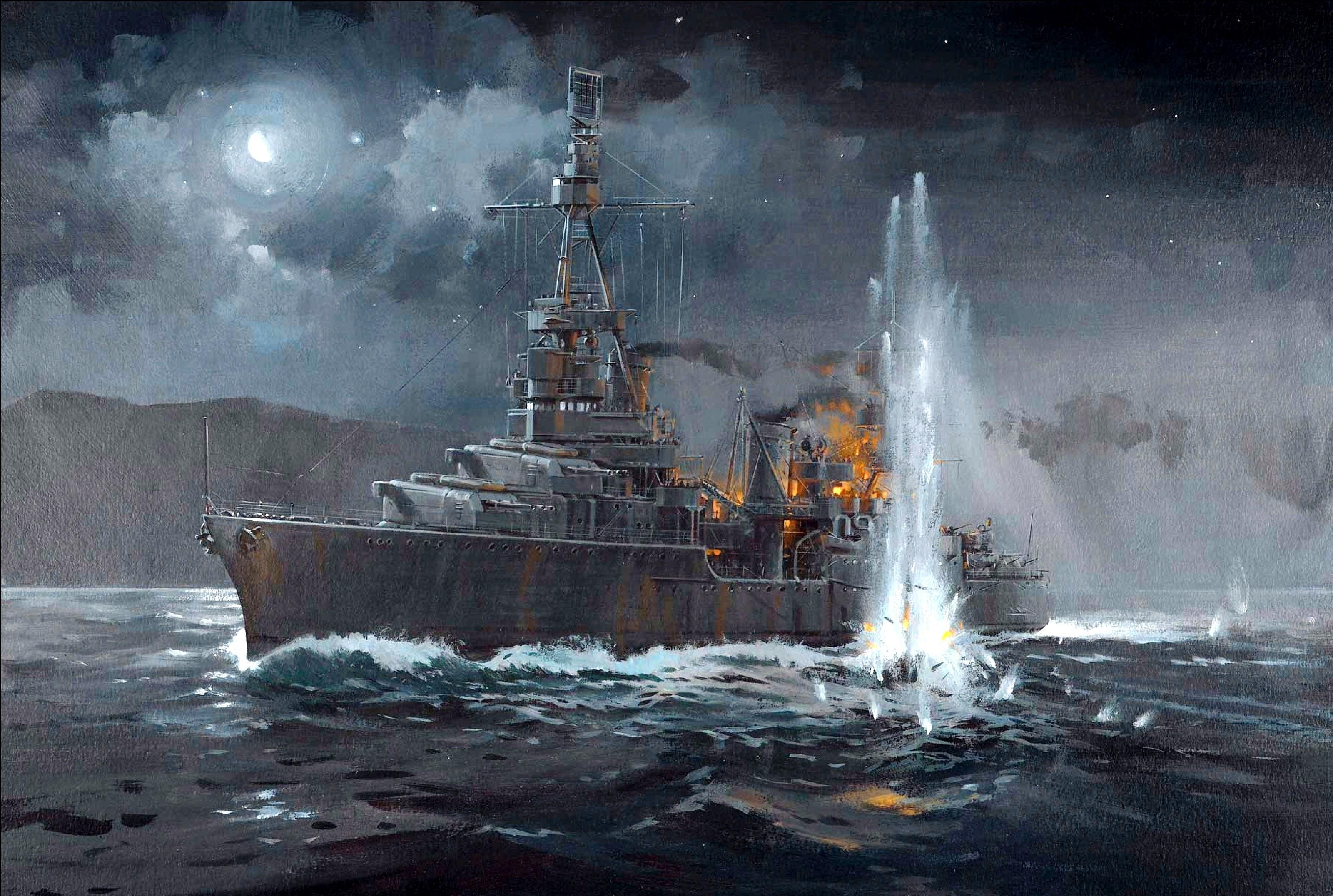 Морской бой  № 48380  скачать