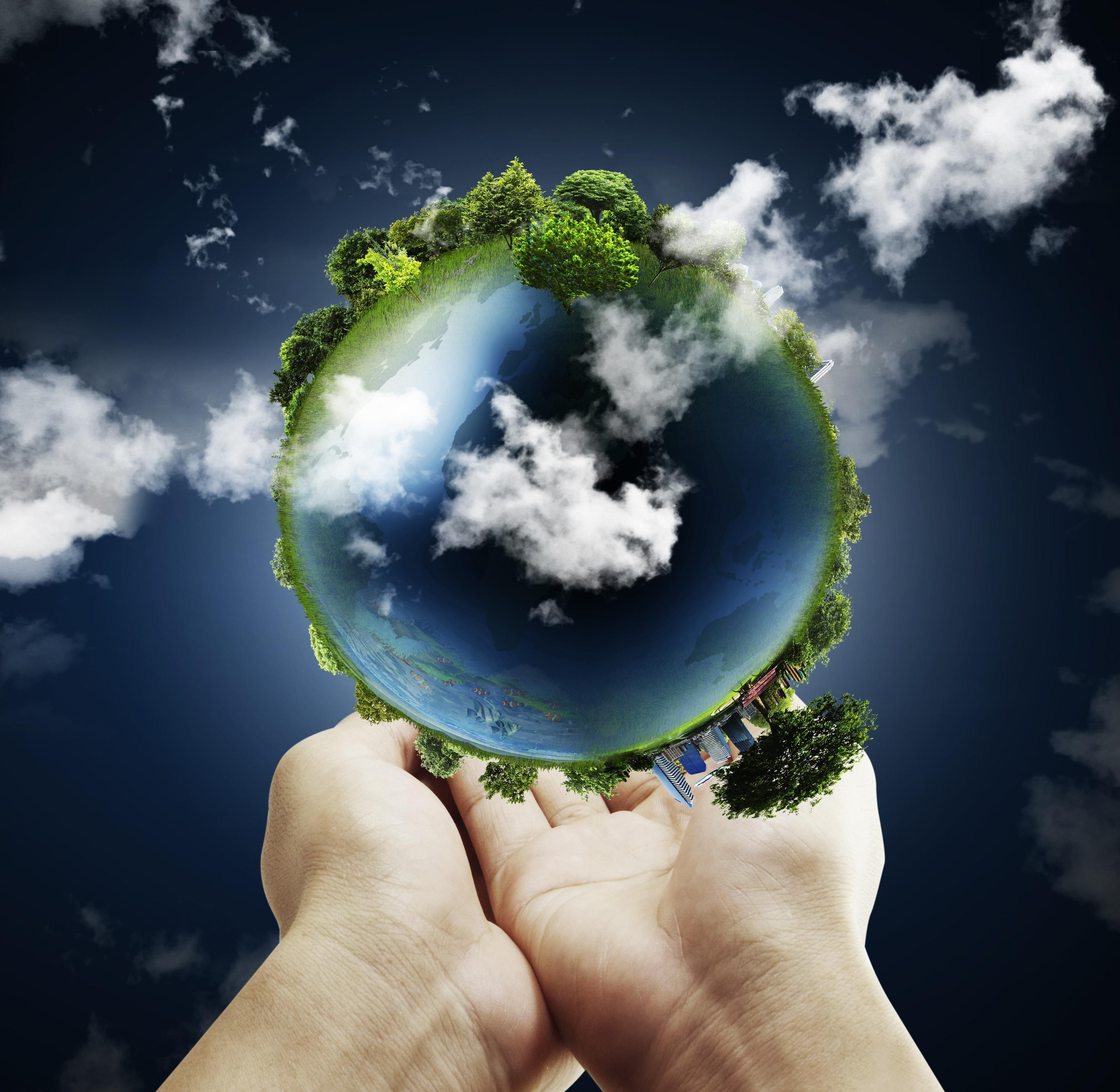 Земной шар экология картинка
