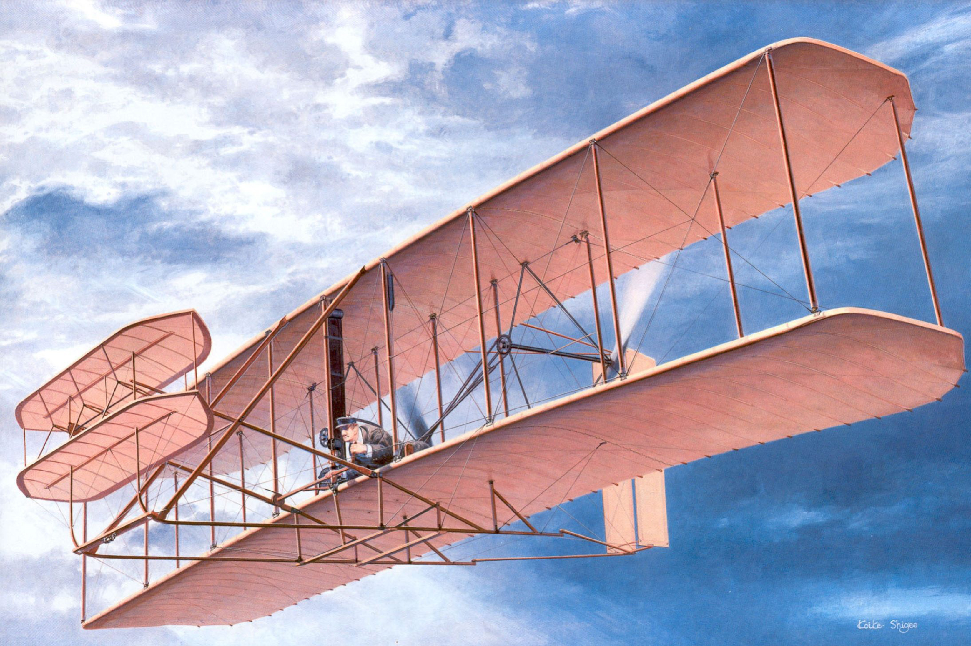 Самый первый самолет когда появился