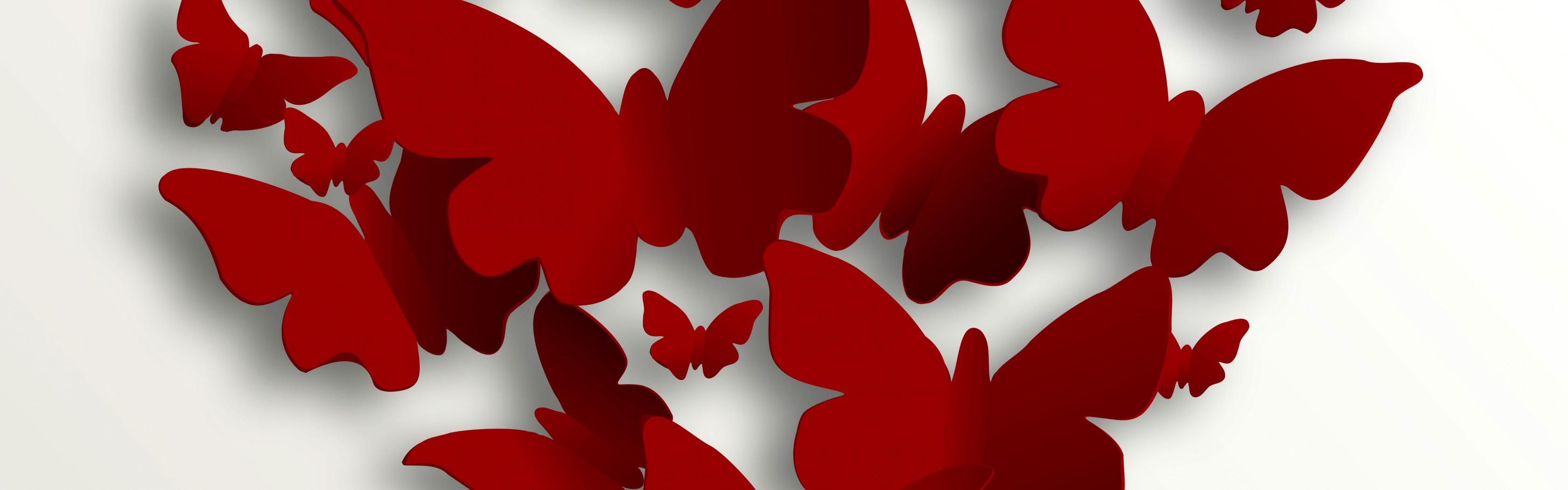 Картинки надписями, сердце из бабочек открытка