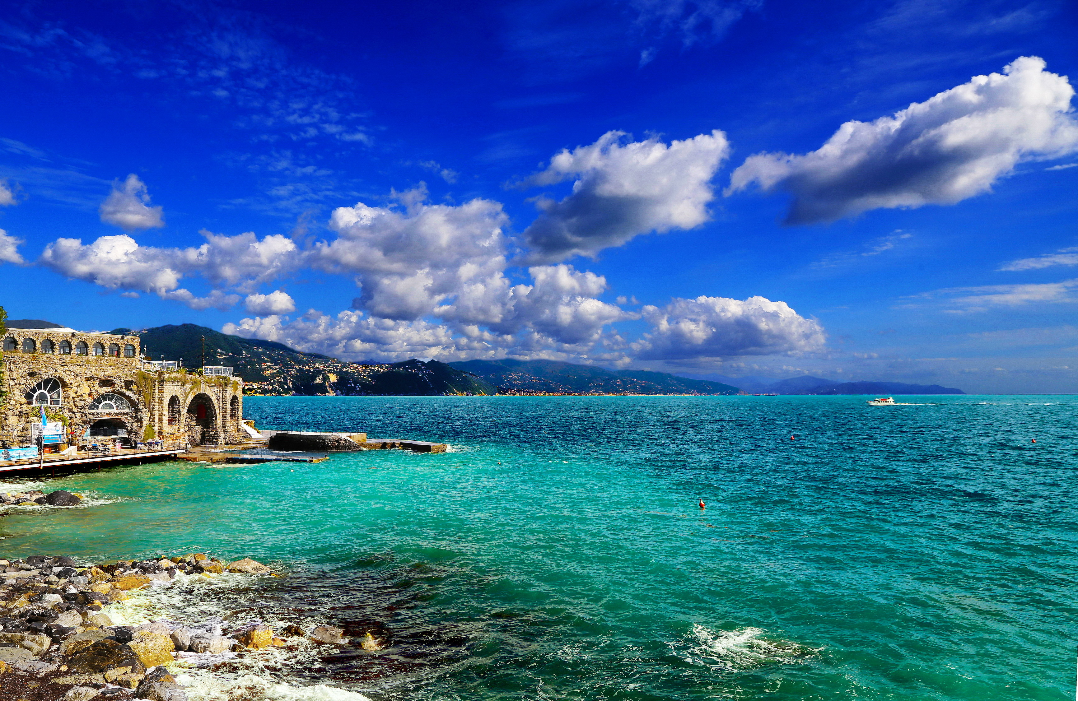 италия пляжи обои на рабочий стол № 507055 без смс