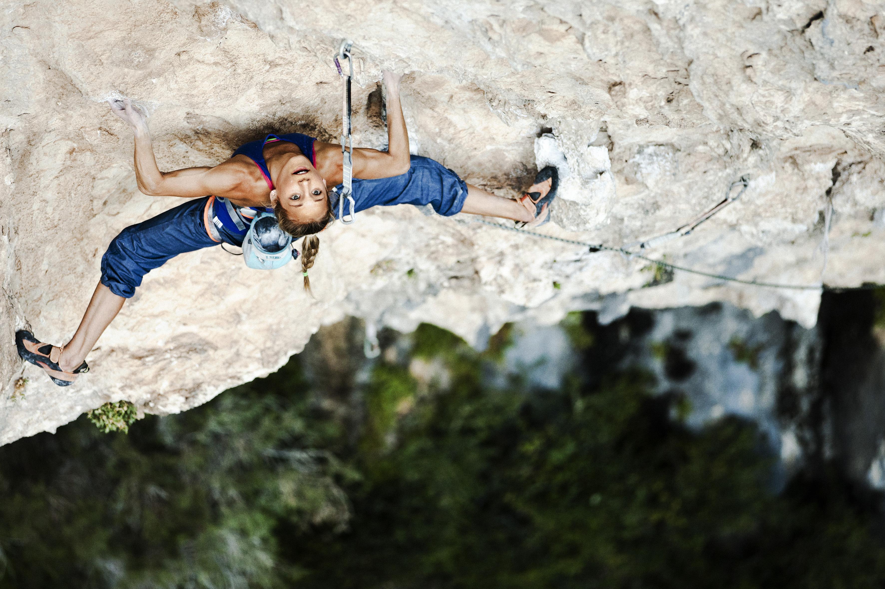 природа горы спорт скалолазание  № 3295488  скачать