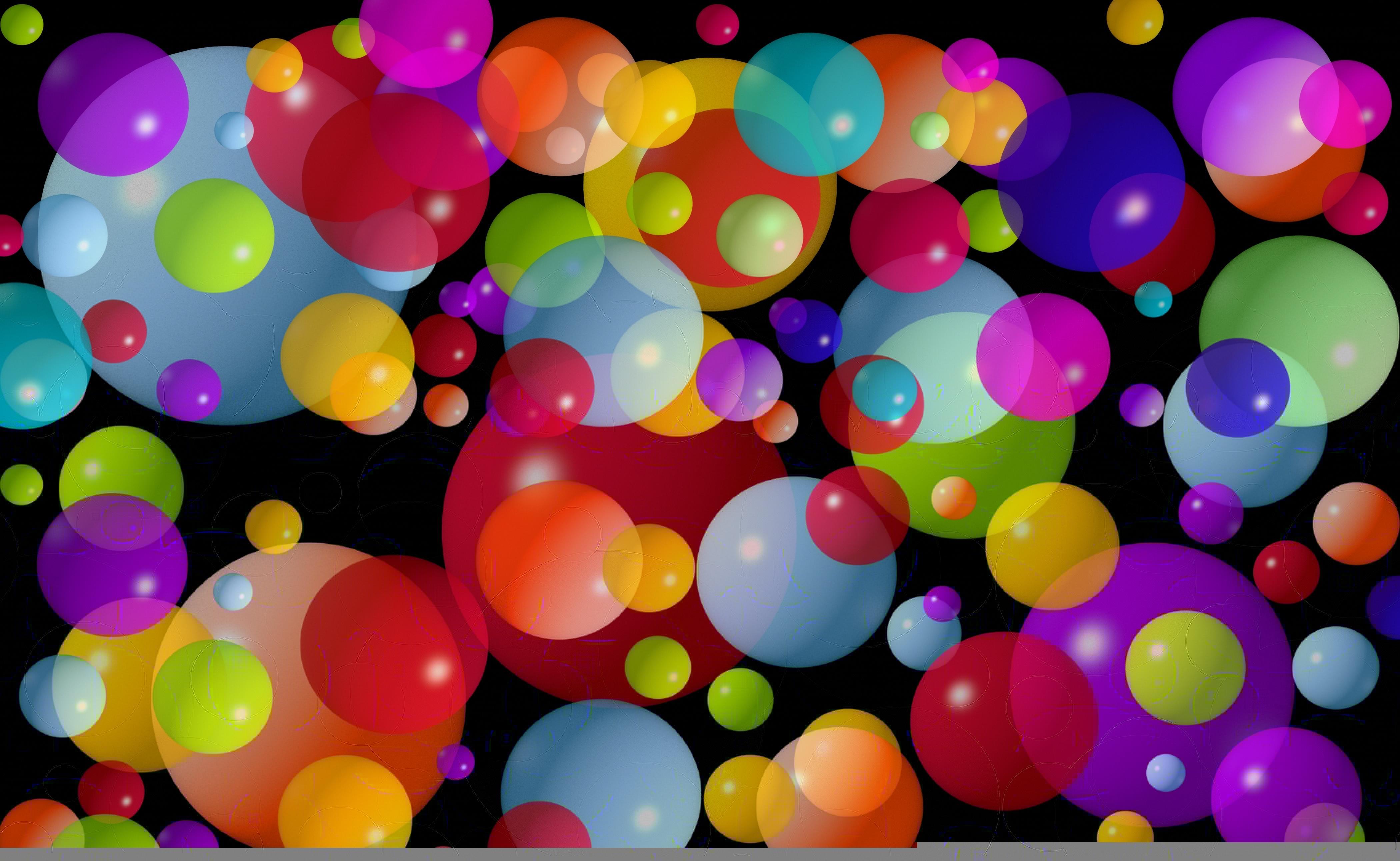 Огни цветные шарики  № 3560996 бесплатно