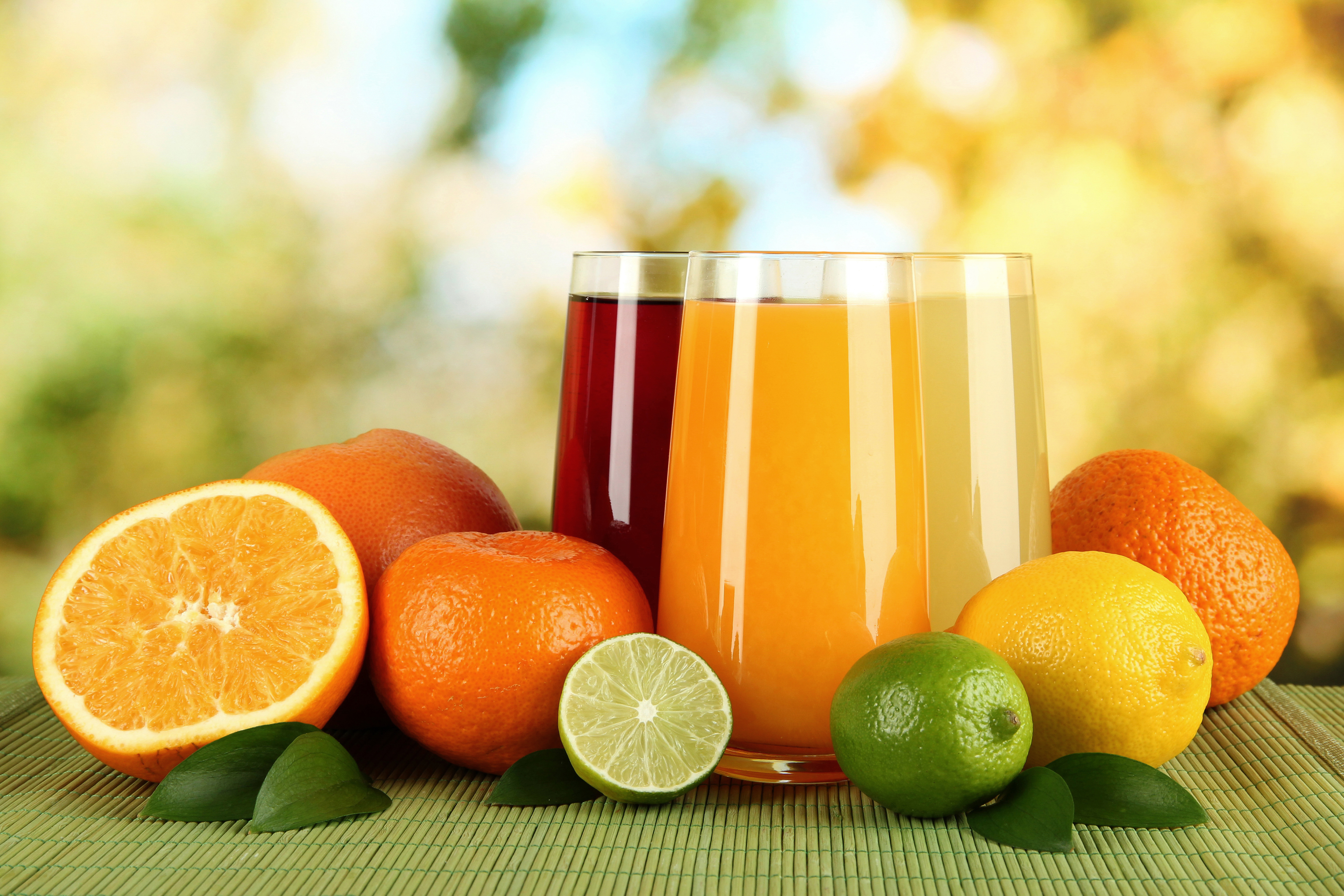 finding out whether brands of orange juice contain different levels of vitamin c