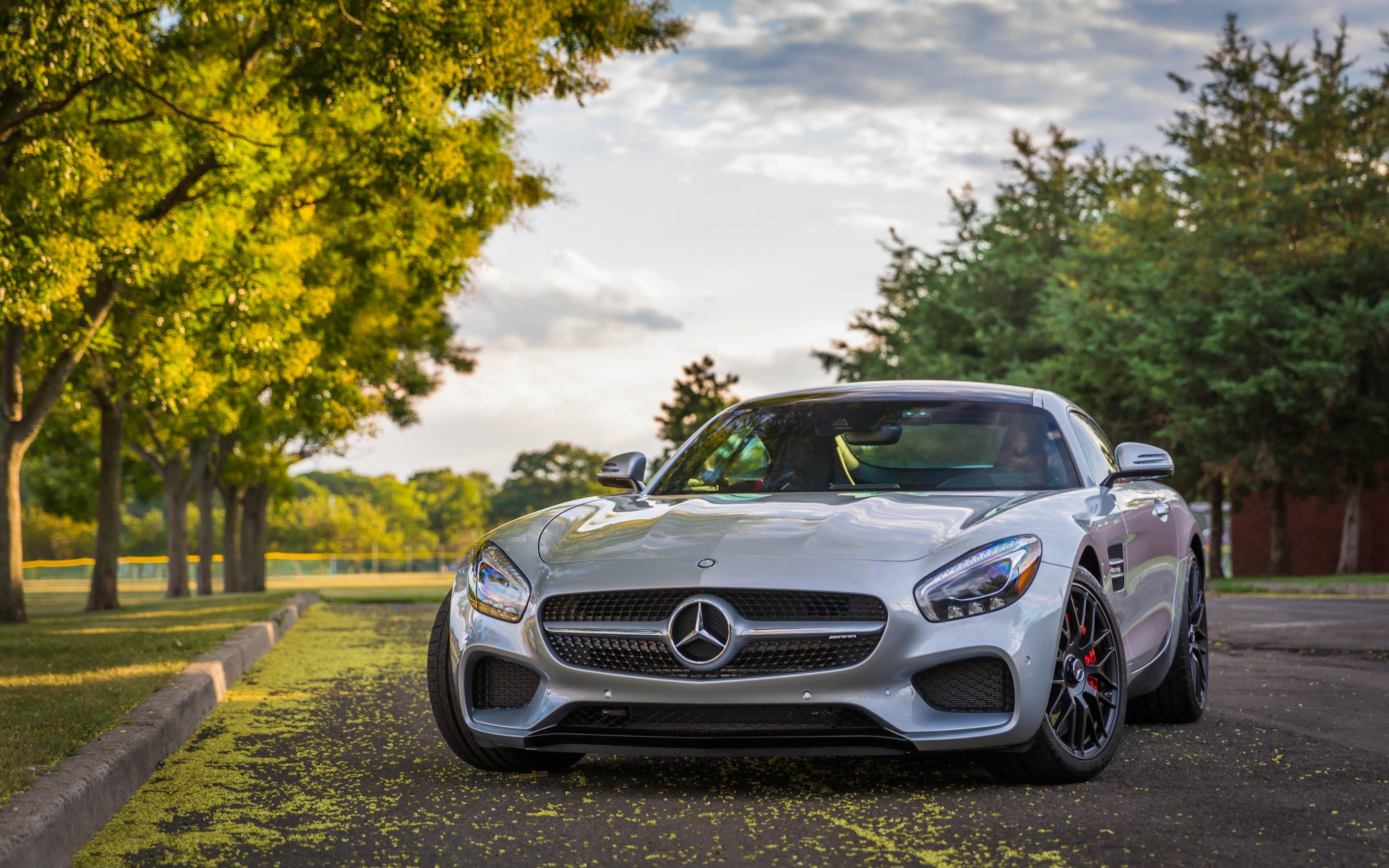 мерседес серебристый Mercedes silver  № 287986 загрузить