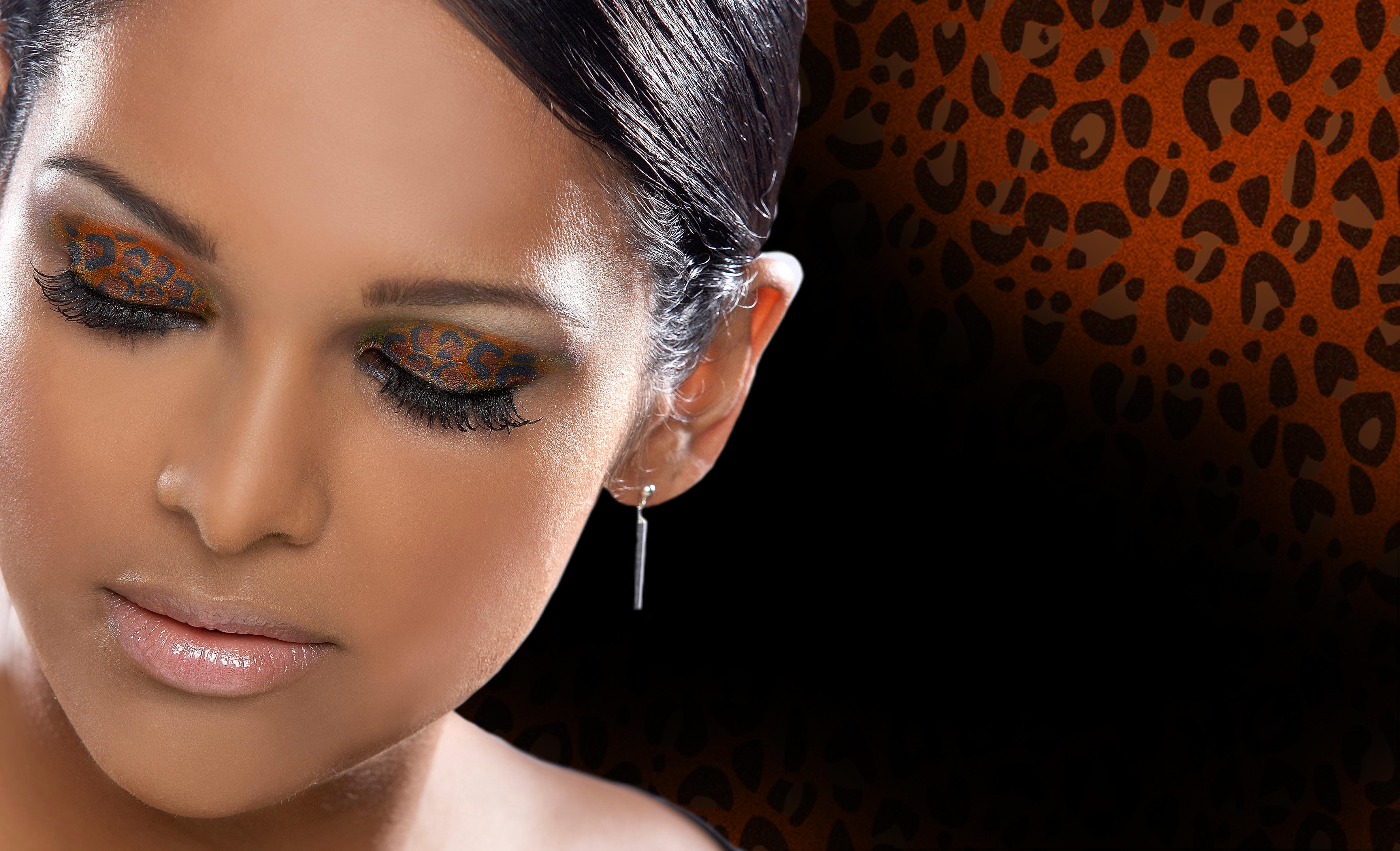 Образ роковой брюнетки макияж фото