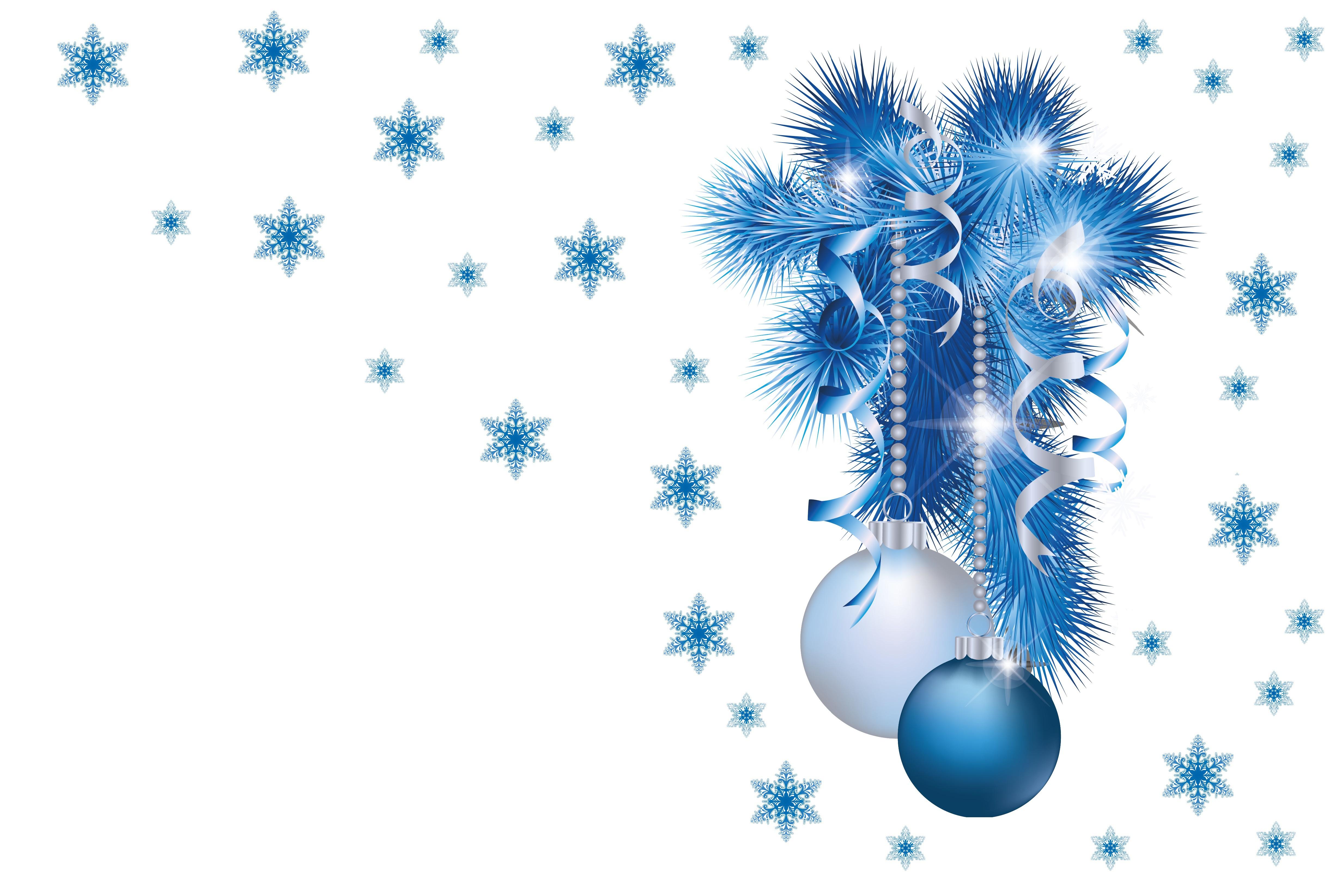 Векторные клипарты для новогодней открытки
