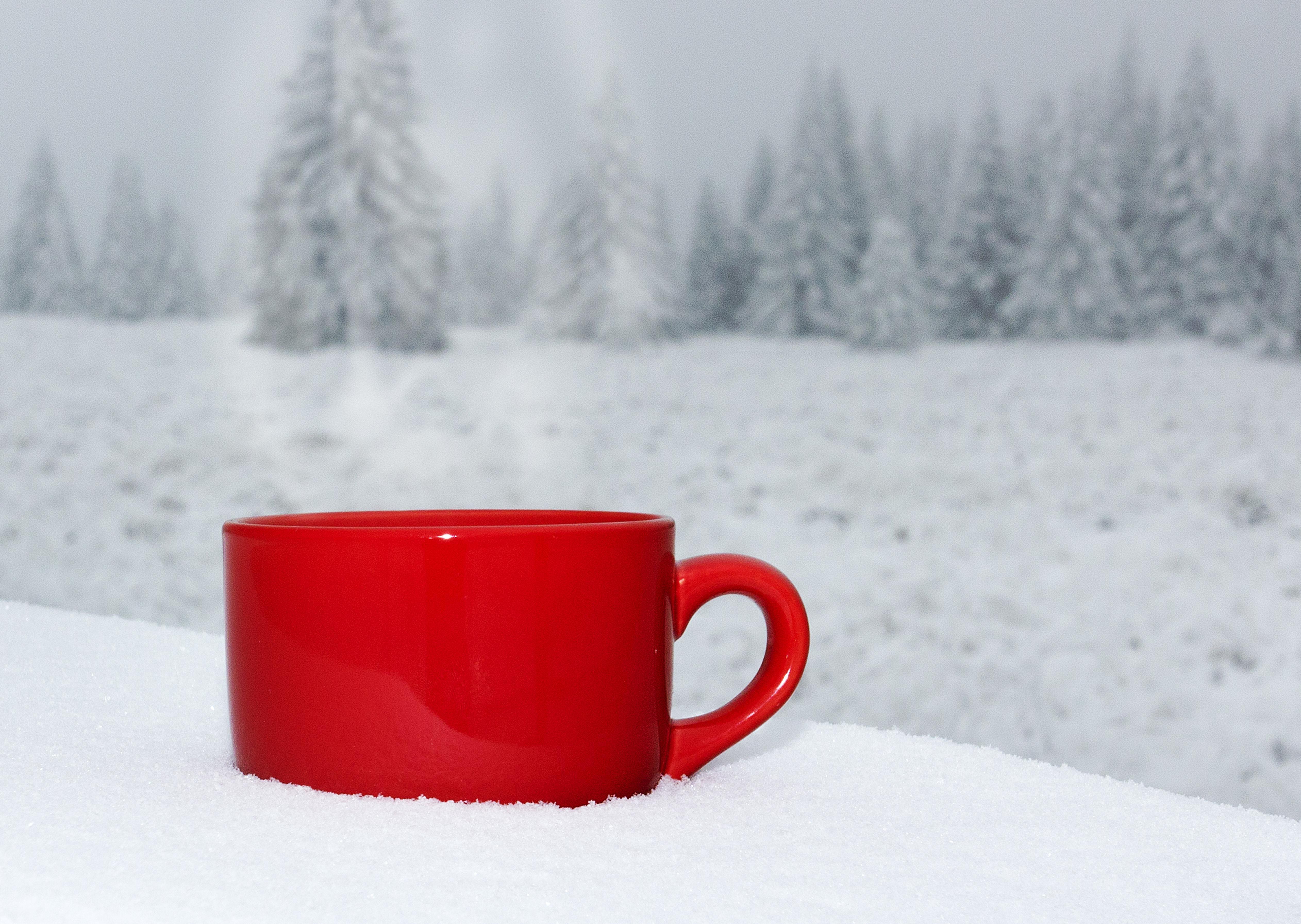 картинка чашка чая и снег великому