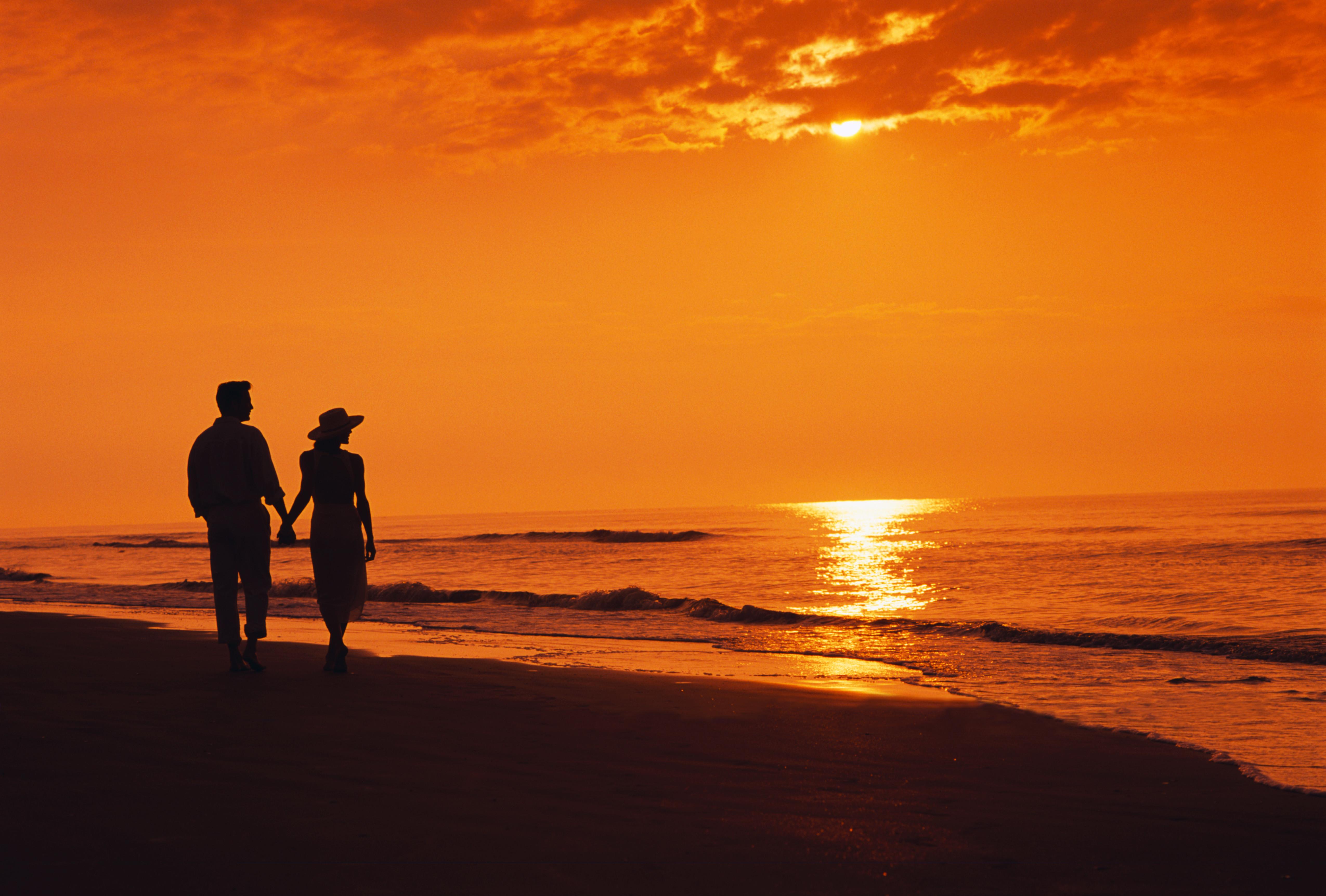 фото двоих на закате кирпича барбекю мечта