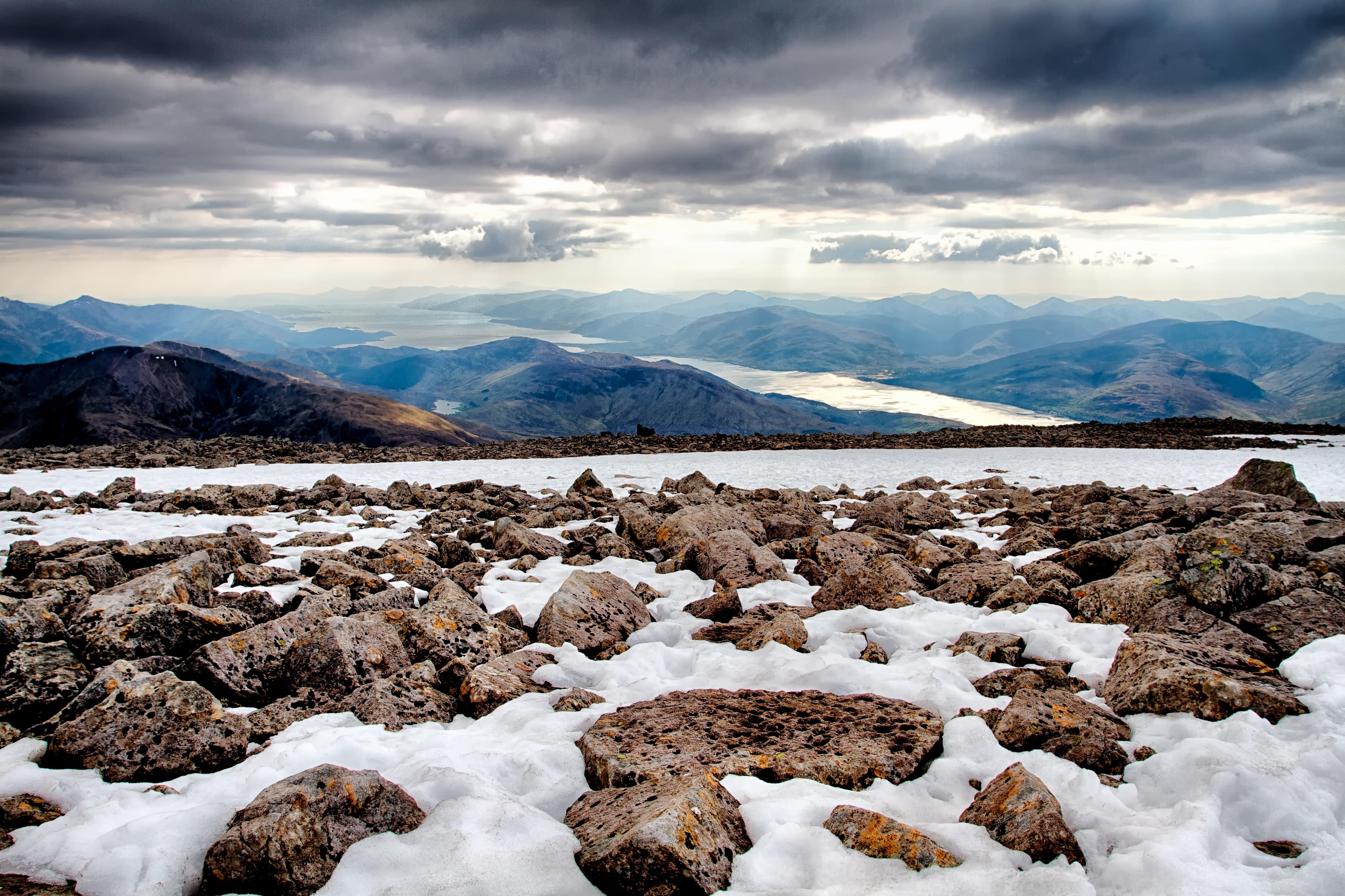 горы камни снег зима  № 2512881 загрузить